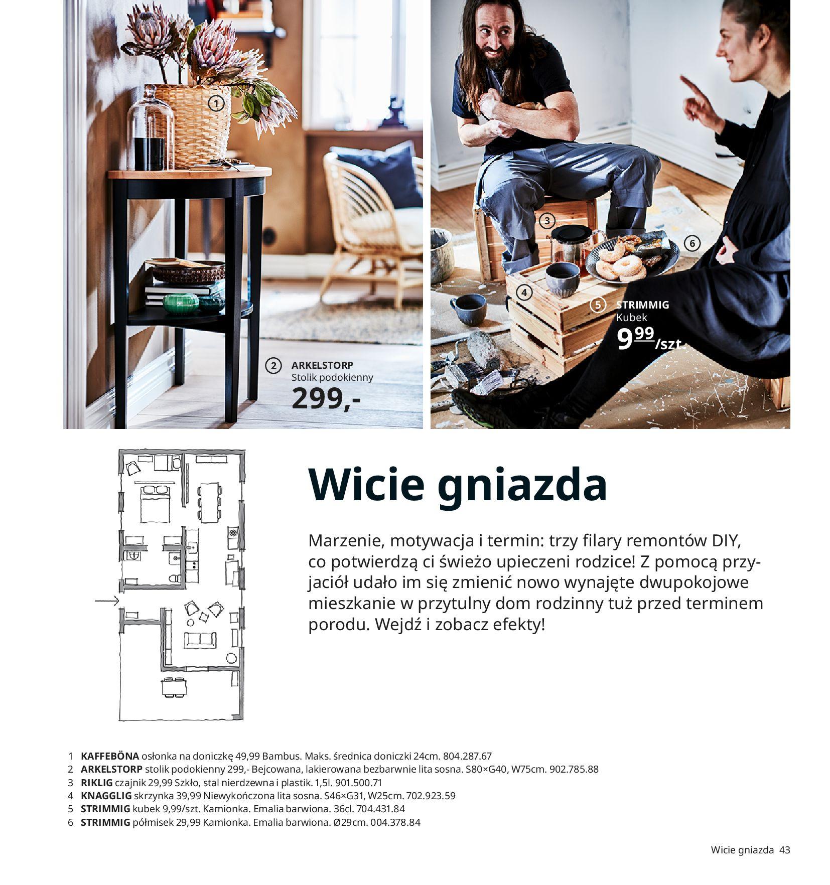Gazetka IKEA:  Katalog IKEA 2021 2020-08-12 page-43