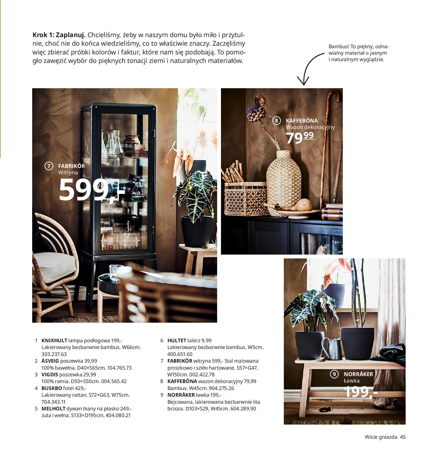 Gazetka IKEA:  Katalog IKEA 2021 2020-08-12 page-45