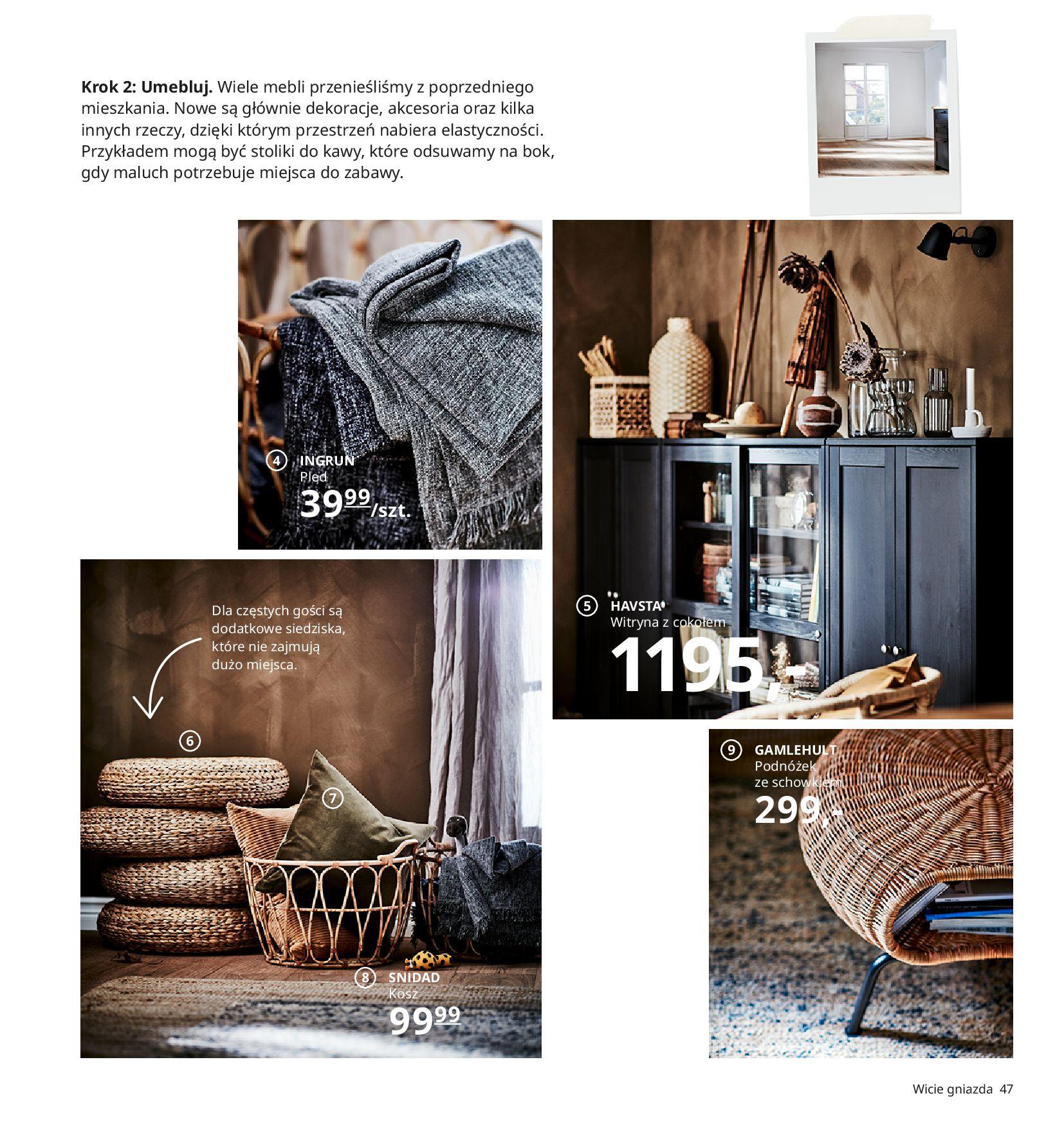 Gazetka IKEA:  Katalog IKEA 2021 2020-08-12 page-47