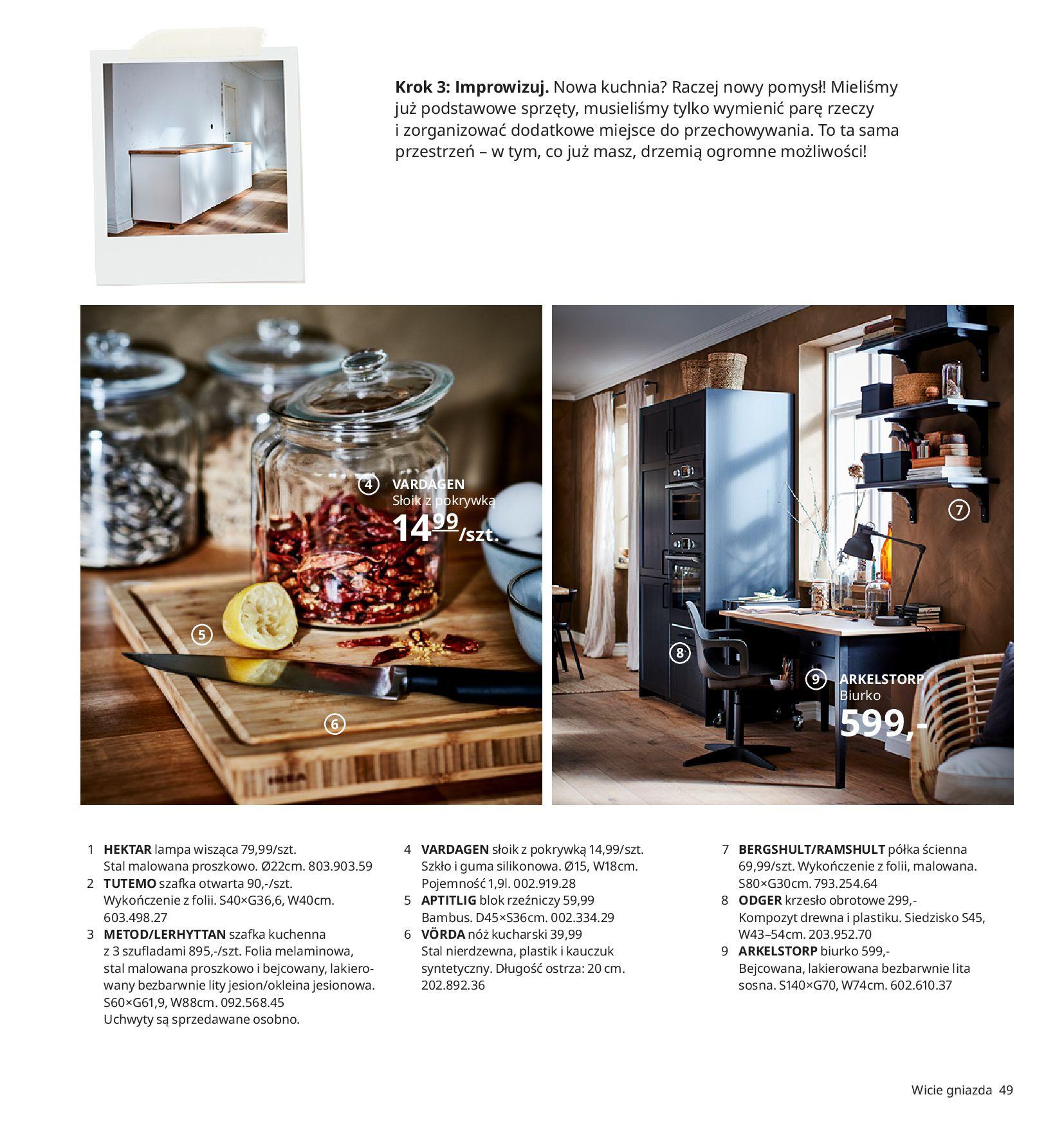 Gazetka IKEA:  Katalog IKEA 2021 2020-08-12 page-49