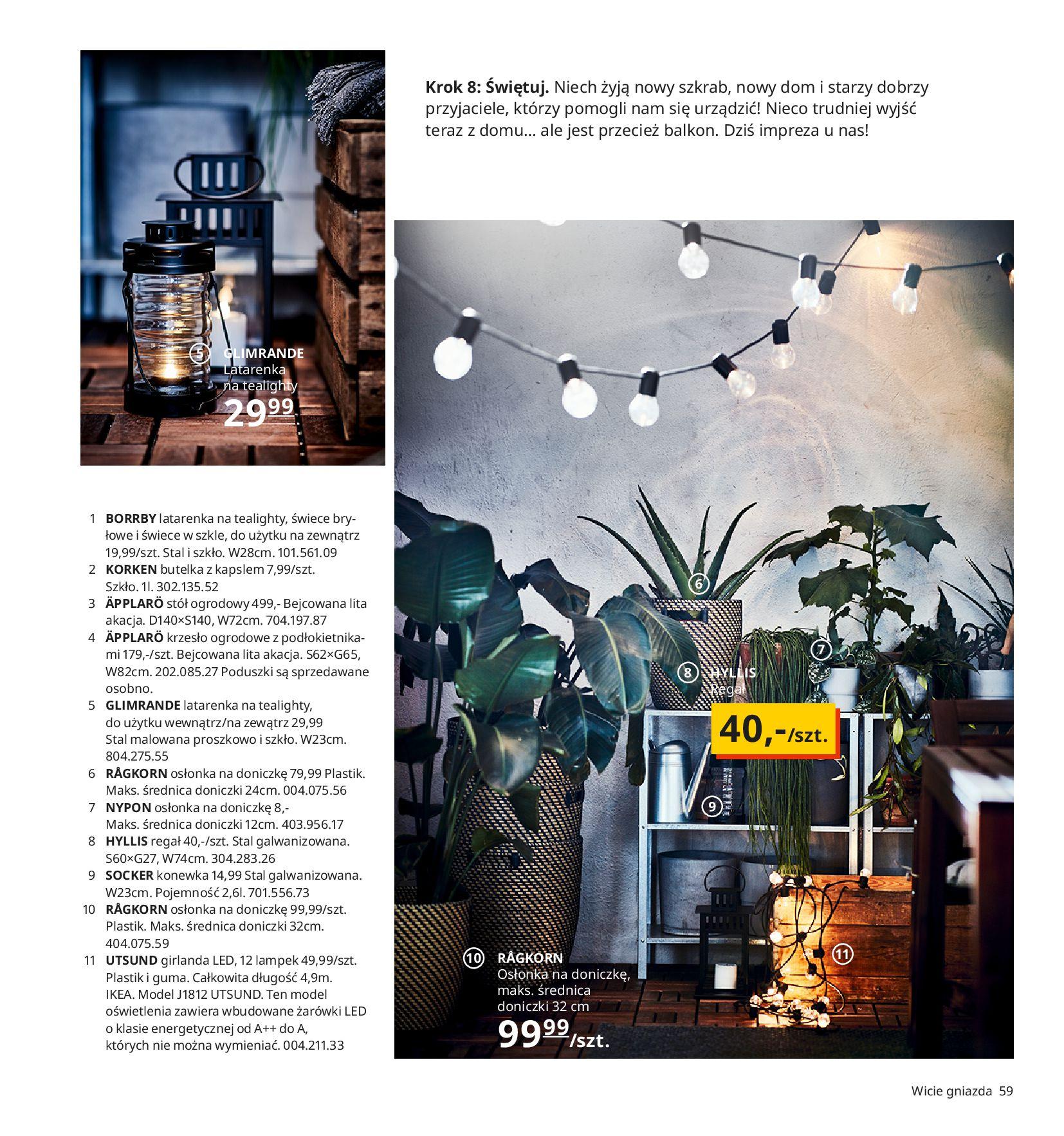 Gazetka IKEA:  Katalog IKEA 2021 2020-08-12 page-59