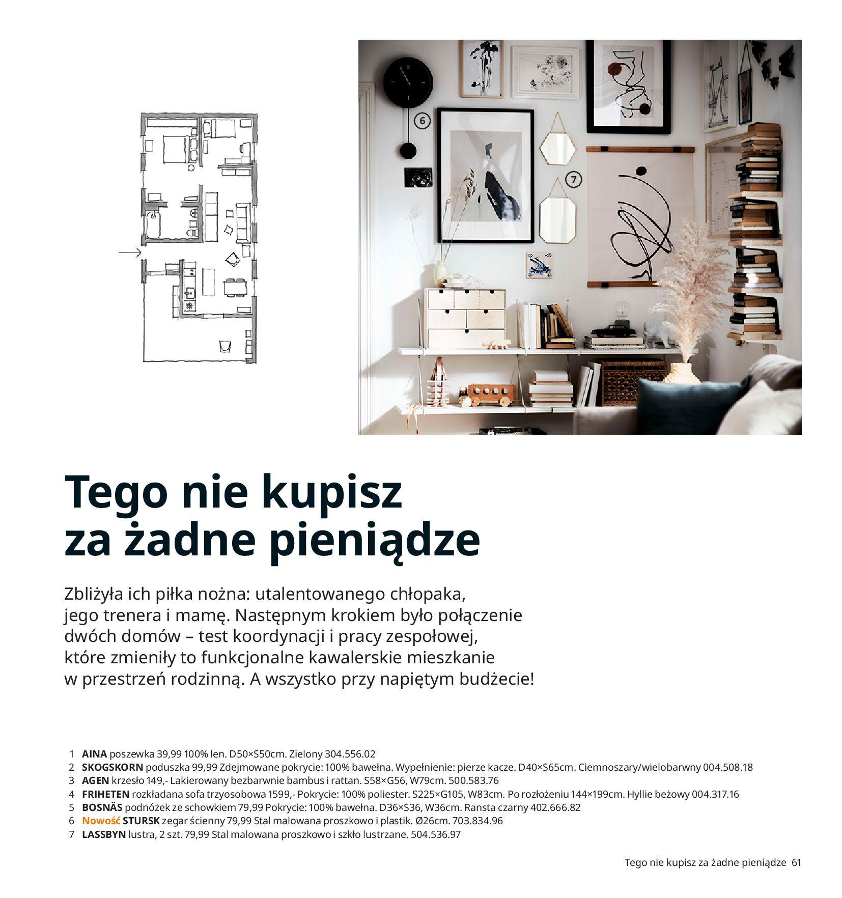 Gazetka IKEA:  Katalog IKEA 2021 2020-08-12 page-61