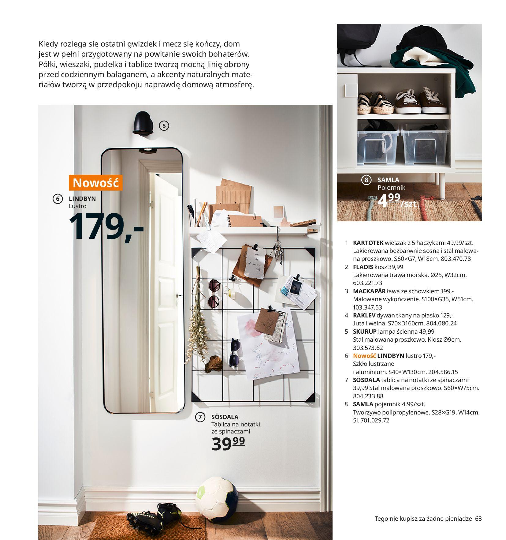 Gazetka IKEA:  Katalog IKEA 2021 2020-08-12 page-63