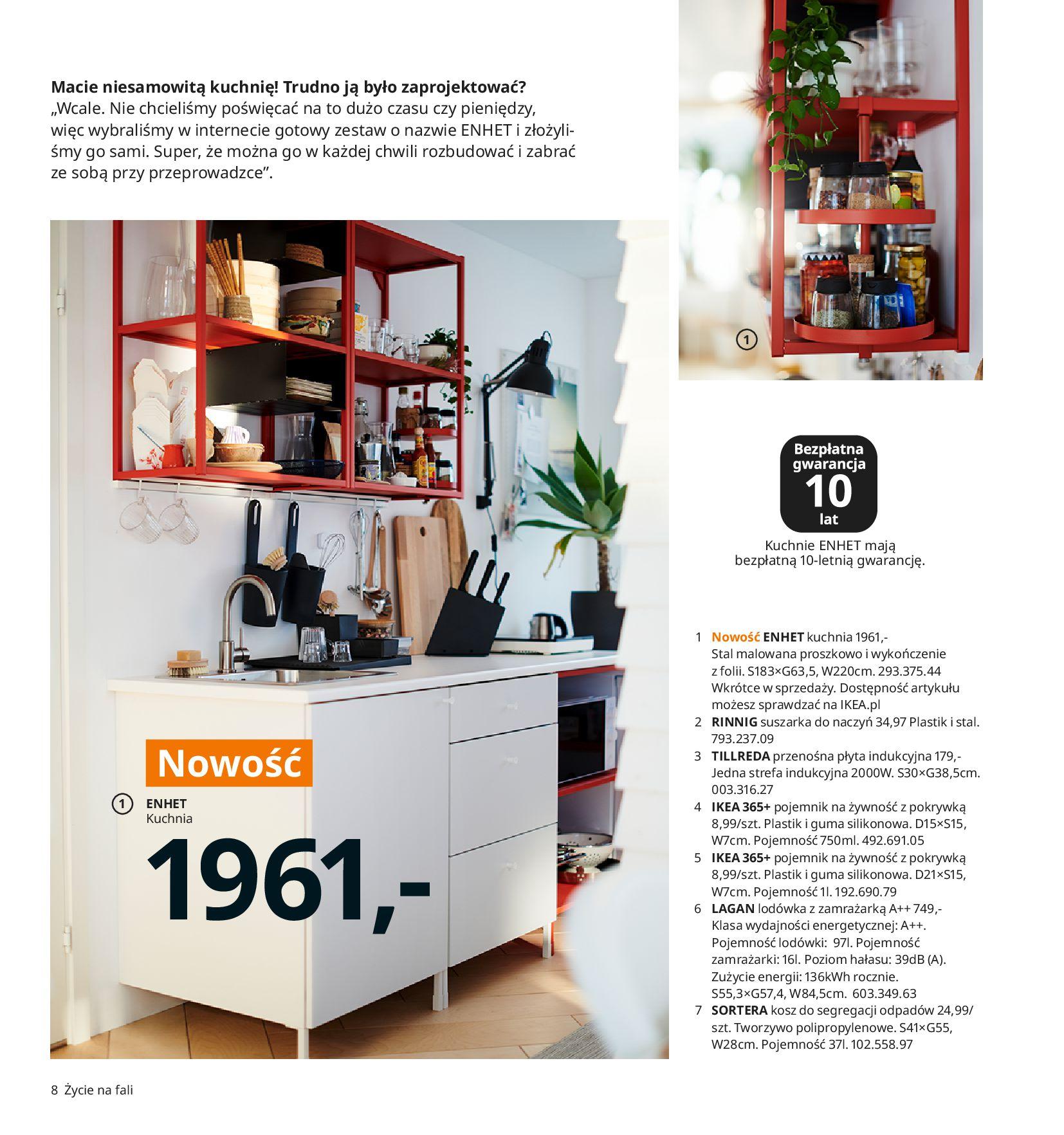 Gazetka IKEA:  Katalog IKEA 2021 2020-08-12 page-8