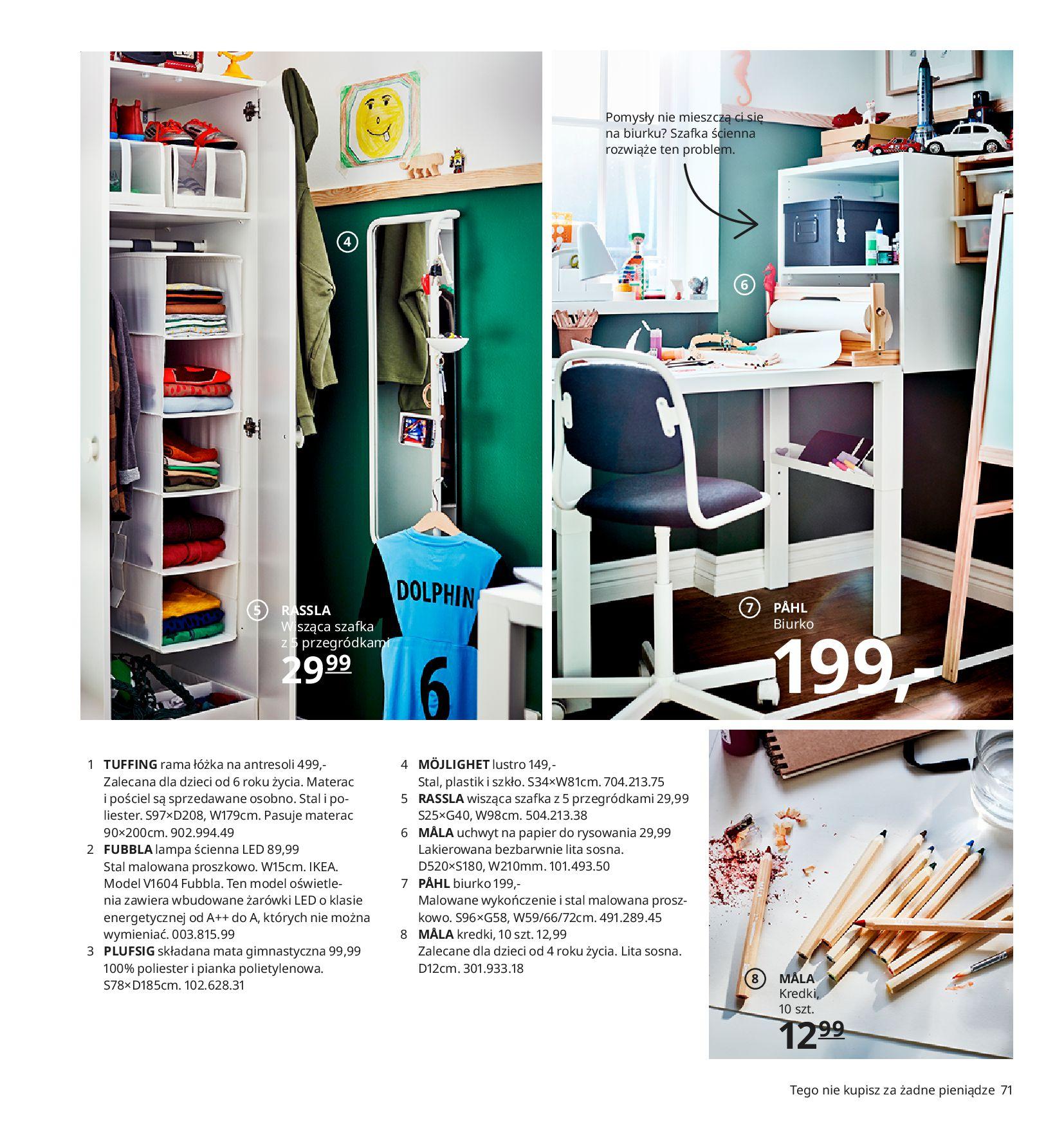 Gazetka IKEA:  Katalog IKEA 2021 2020-08-12 page-71