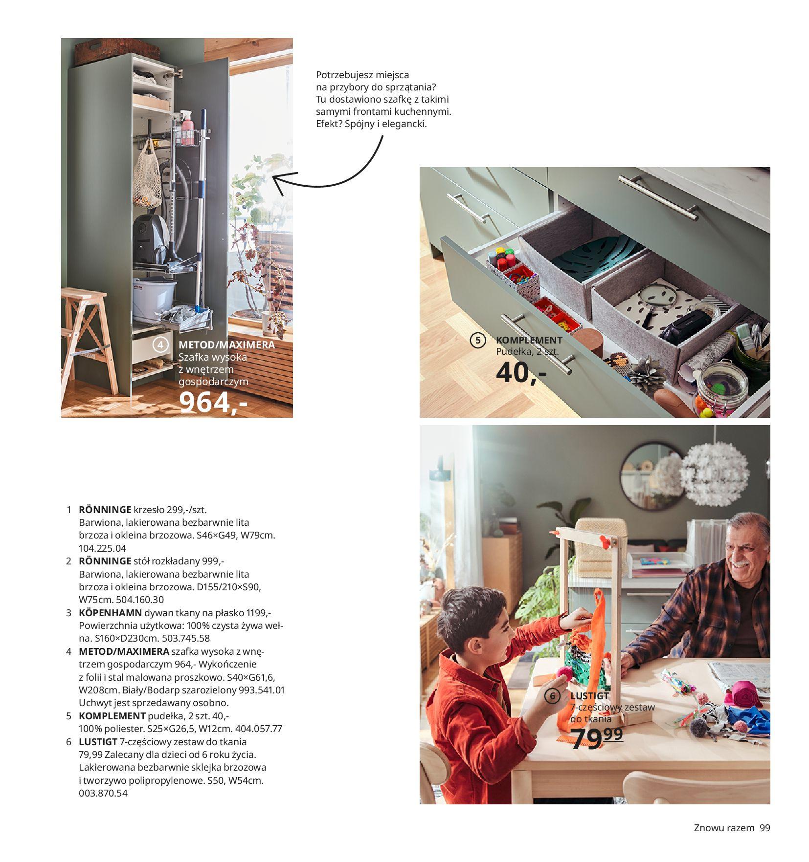 Gazetka IKEA:  Katalog IKEA 2021 2020-08-12 page-99