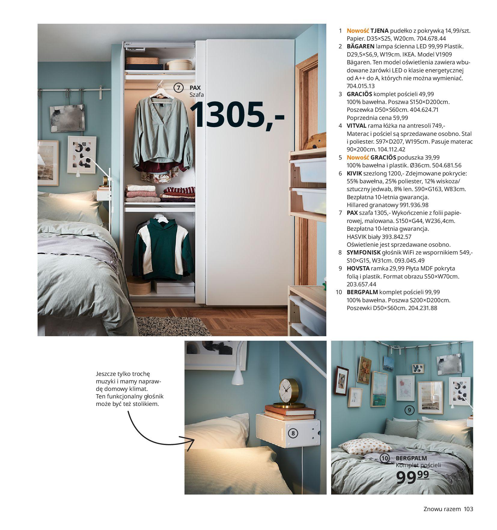 Gazetka IKEA:  Katalog IKEA 2021 2020-08-12 page-103