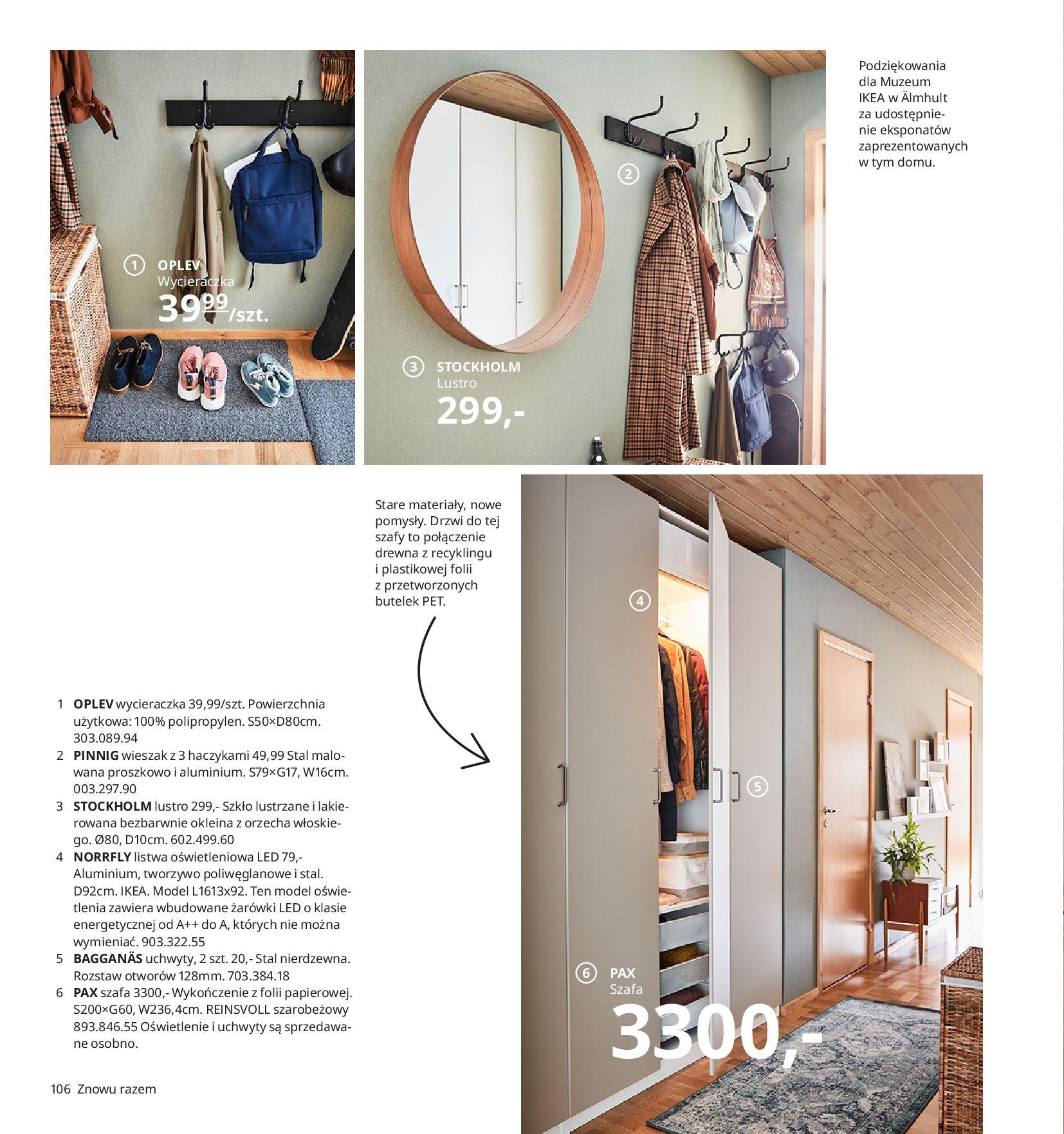 Gazetka IKEA:  Katalog IKEA 2021 2020-08-12 page-106
