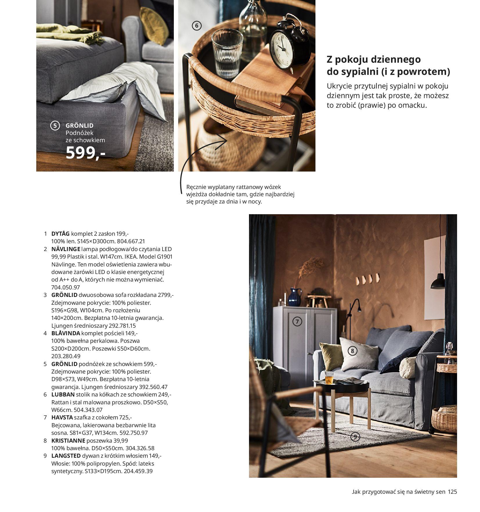 Gazetka IKEA:  Katalog IKEA 2021 2020-08-12 page-125
