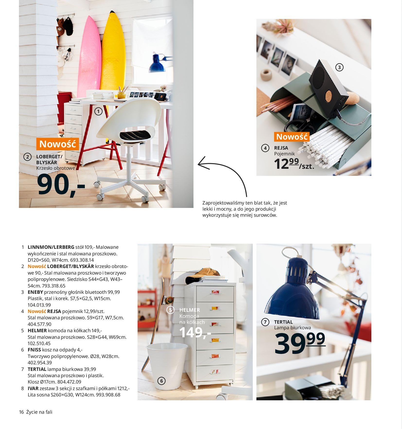 Gazetka IKEA:  Katalog IKEA 2021 2020-08-12 page-16