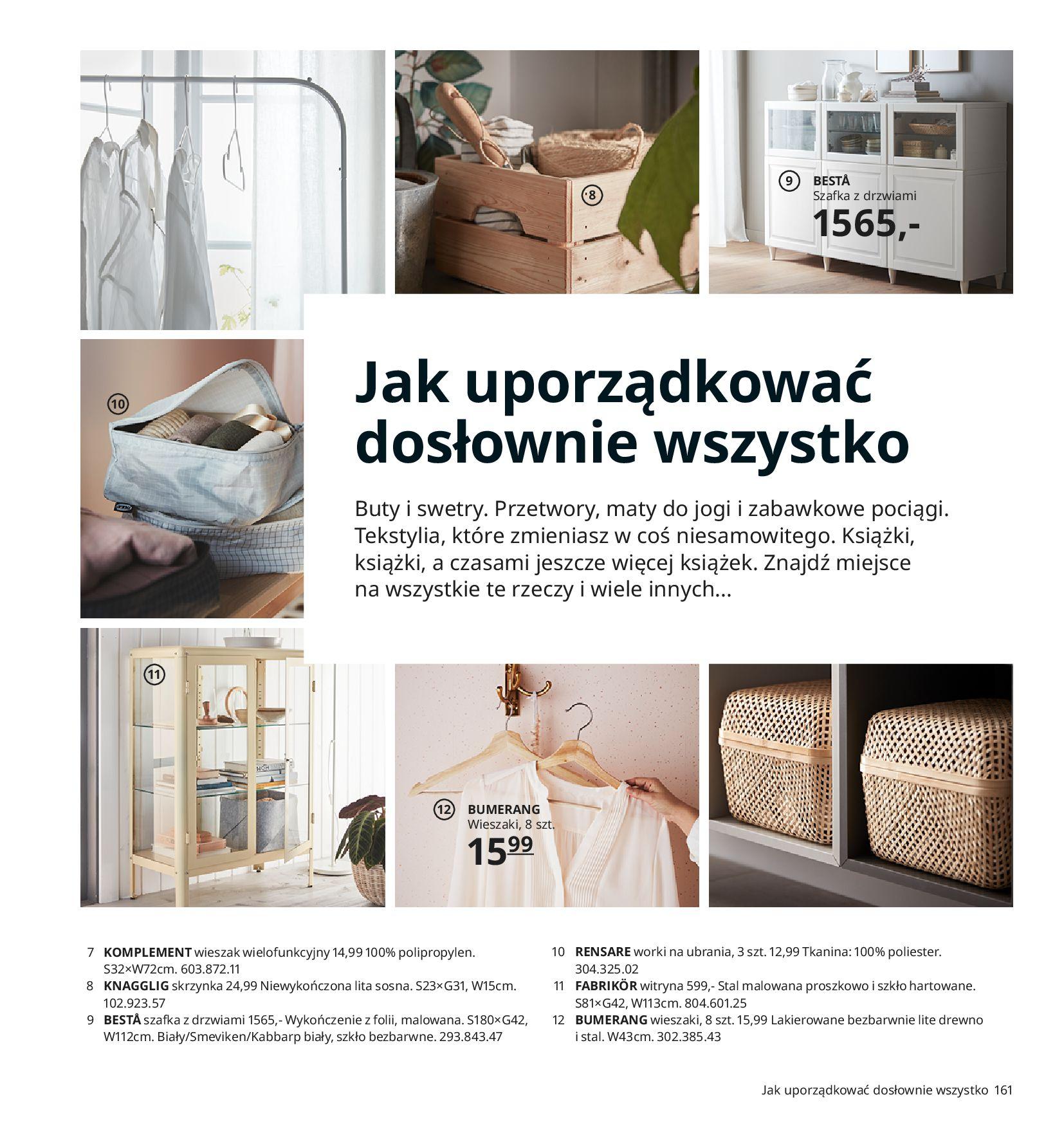 Gazetka IKEA:  Katalog IKEA 2021 2020-08-12 page-161