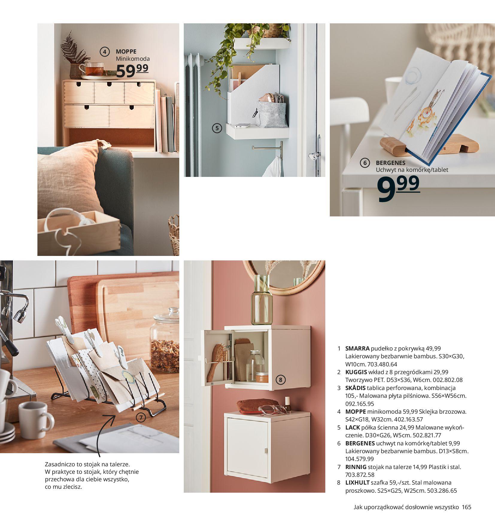 Gazetka IKEA:  Katalog IKEA 2021 2020-08-12 page-165