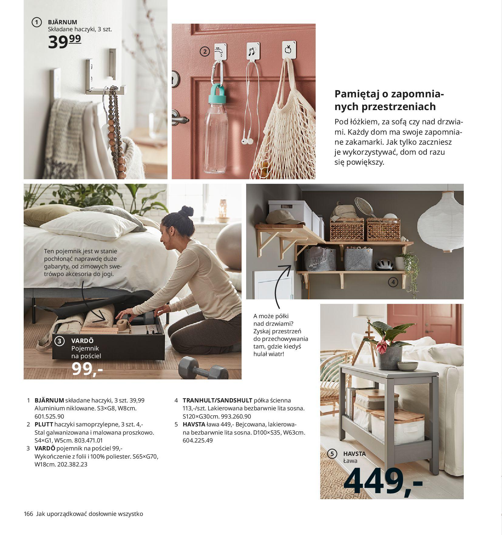 Gazetka IKEA:  Katalog IKEA 2021 2020-08-12 page-166
