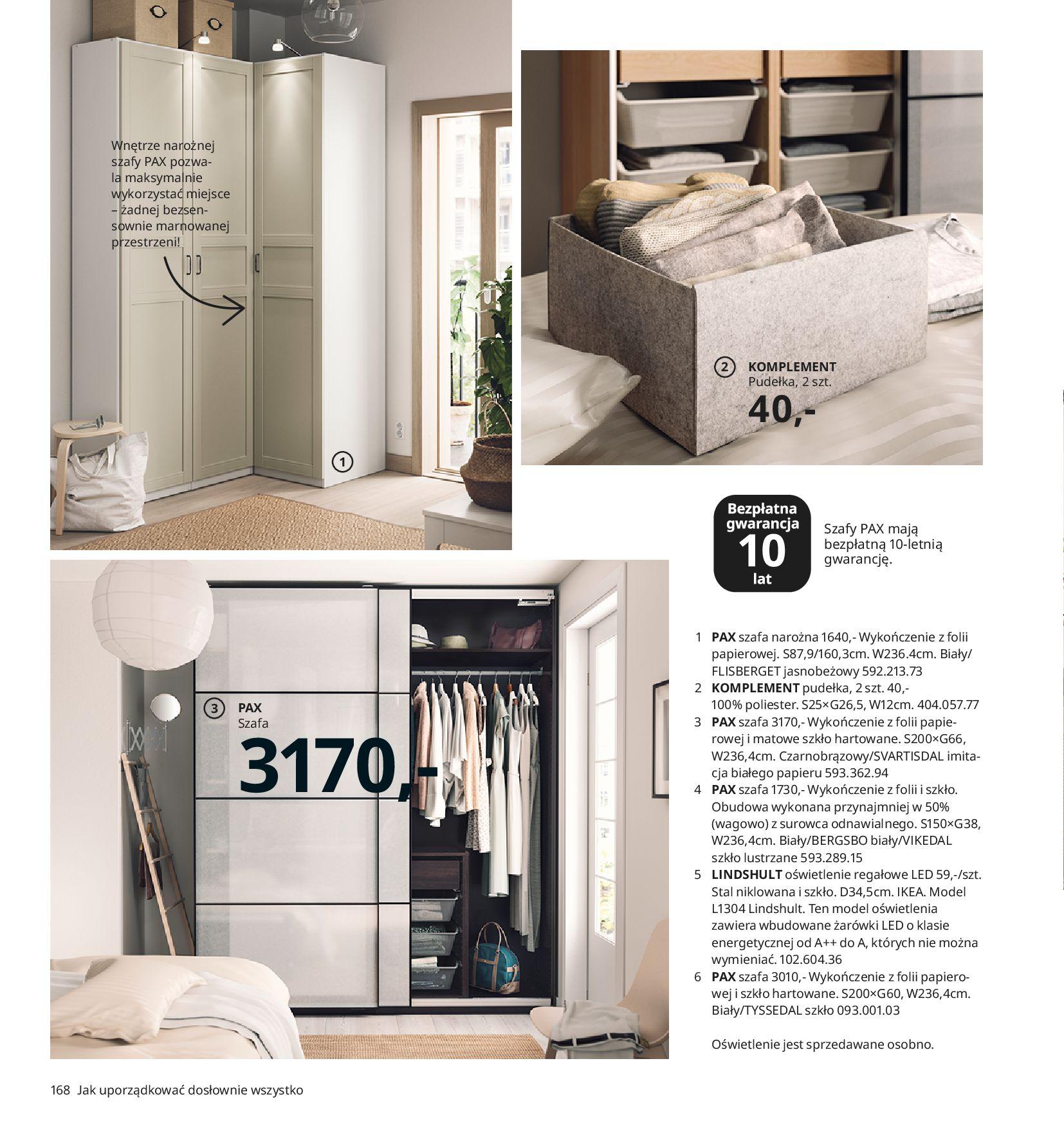 Gazetka IKEA:  Katalog IKEA 2021 2020-08-12 page-168