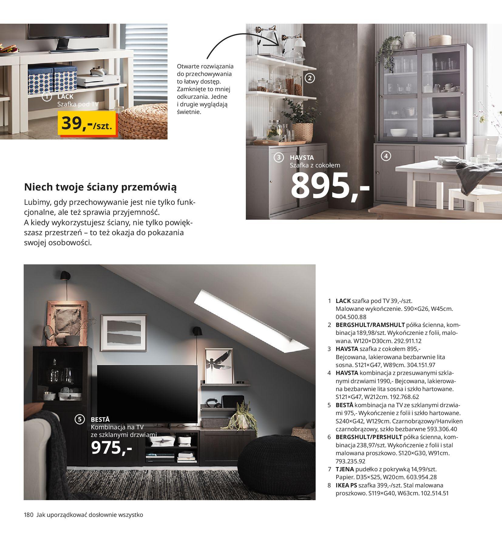 Gazetka IKEA:  Katalog IKEA 2021 2020-08-12 page-180