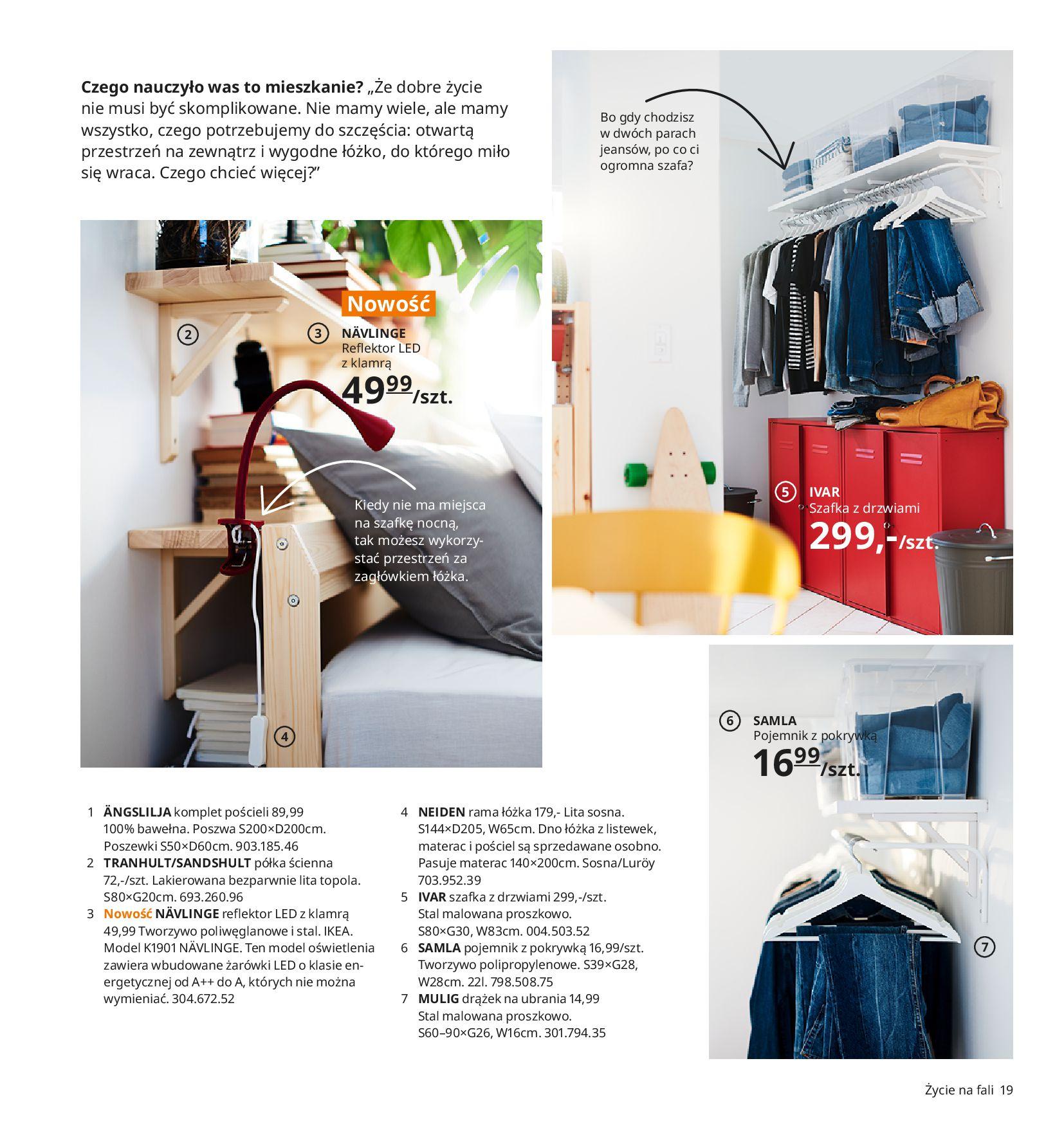 Gazetka IKEA:  Katalog IKEA 2021 2020-08-12 page-19
