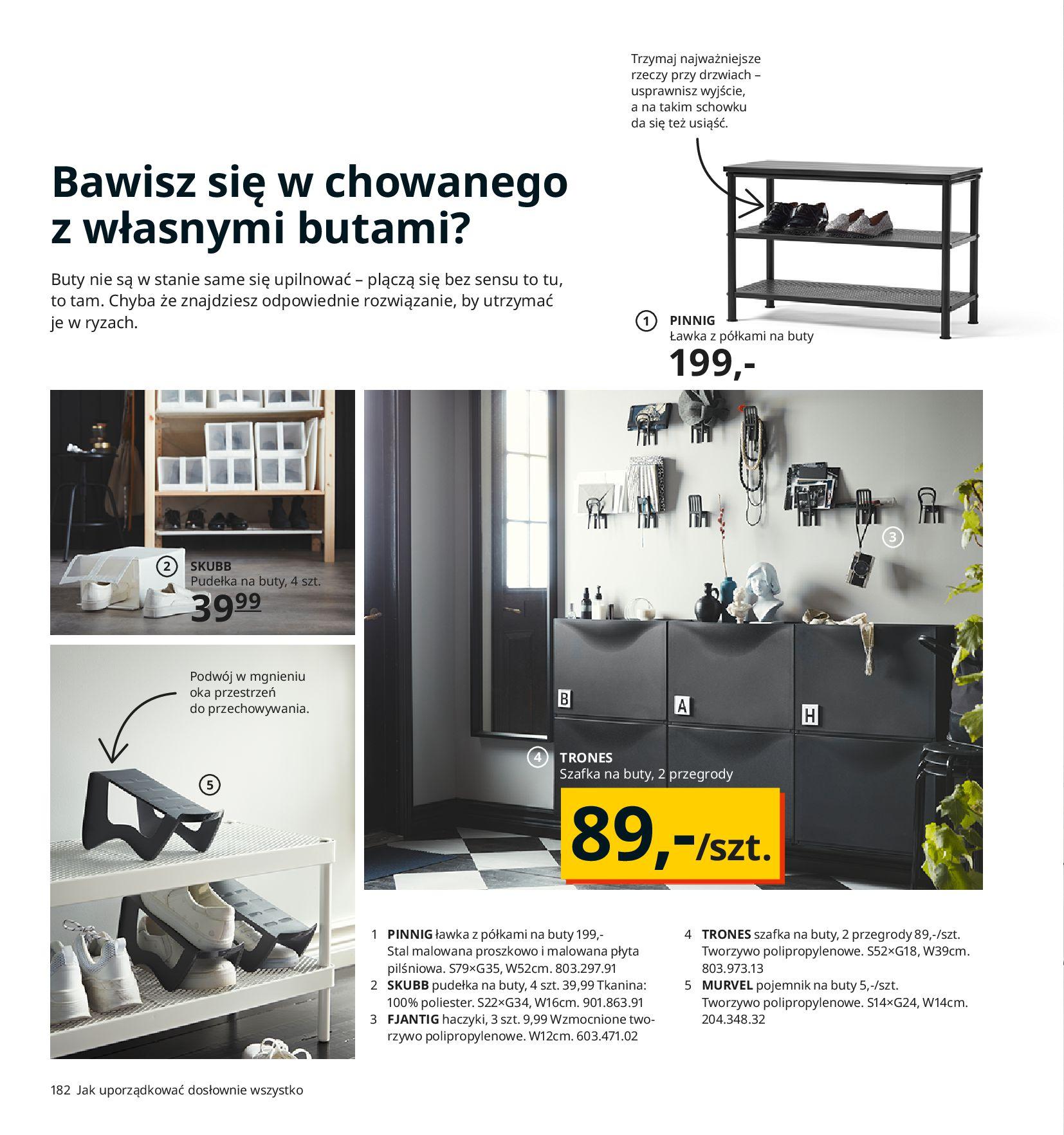 Gazetka IKEA:  Katalog IKEA 2021 2020-08-12 page-182