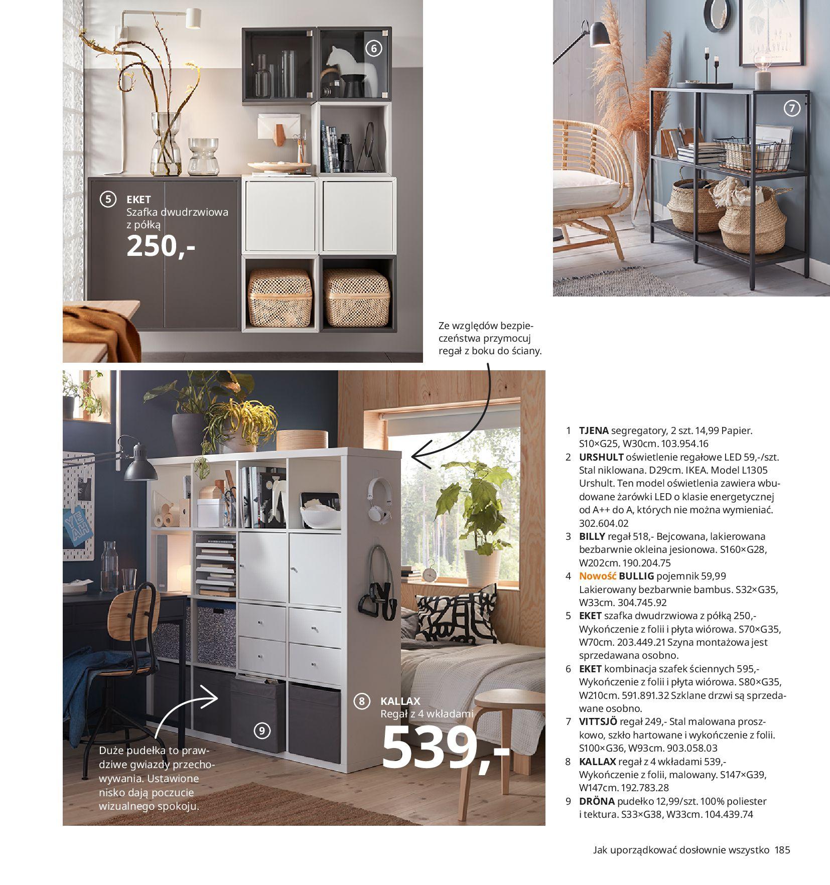 Gazetka IKEA:  Katalog IKEA 2021 2020-08-12 page-185