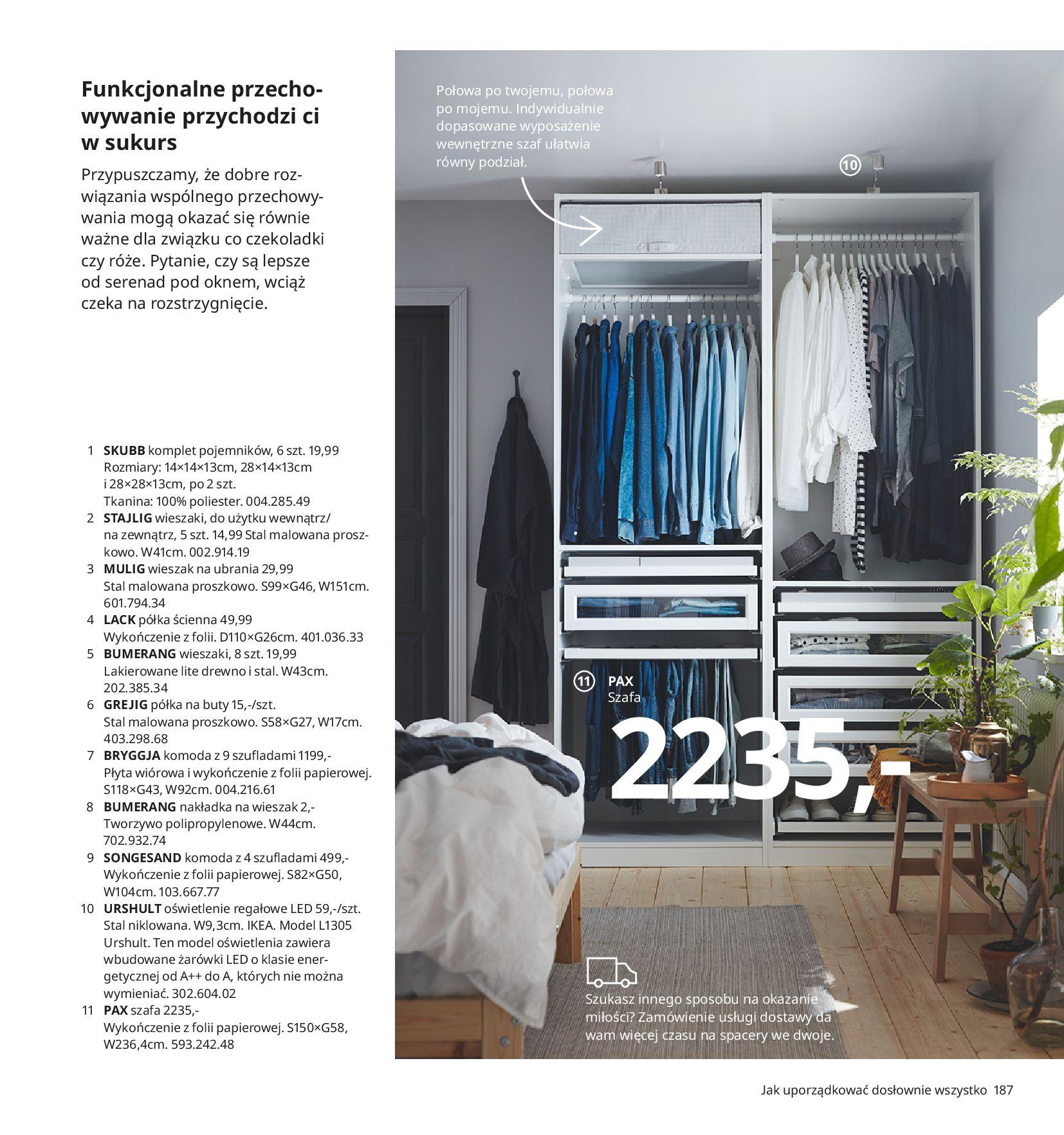 Gazetka IKEA:  Katalog IKEA 2021 2020-08-12 page-187