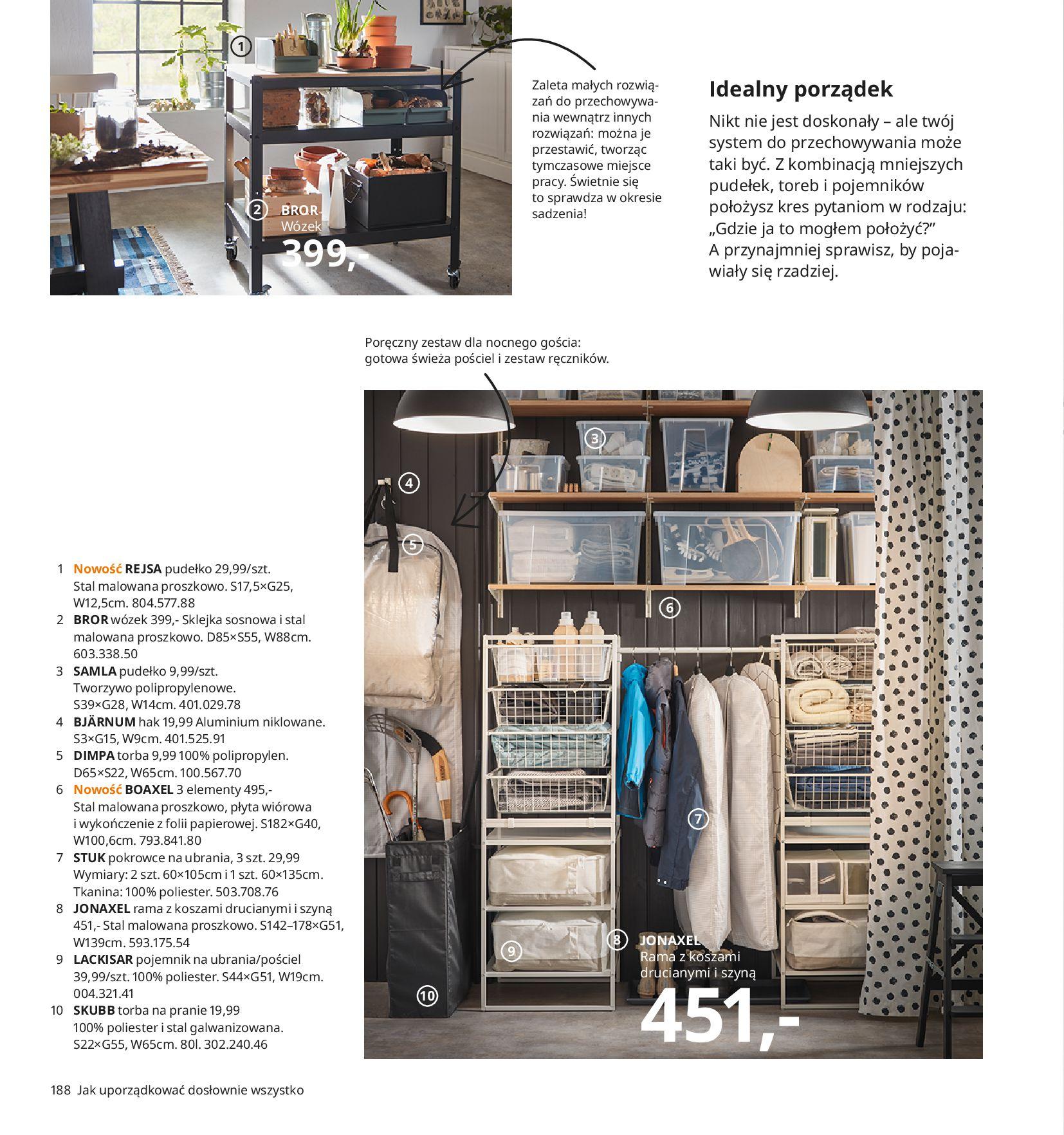 Gazetka IKEA:  Katalog IKEA 2021 2020-08-12 page-188