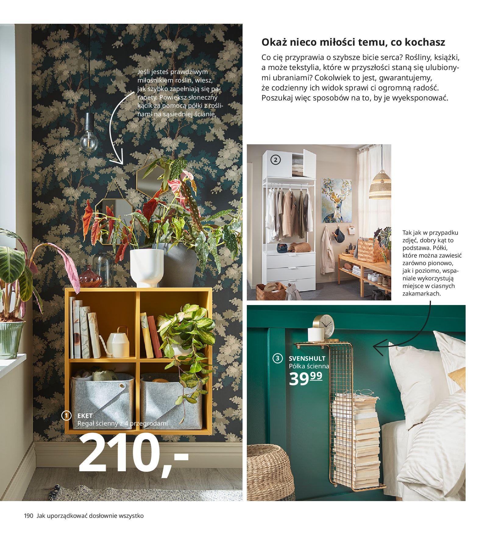 Gazetka IKEA:  Katalog IKEA 2021 2020-08-12 page-190