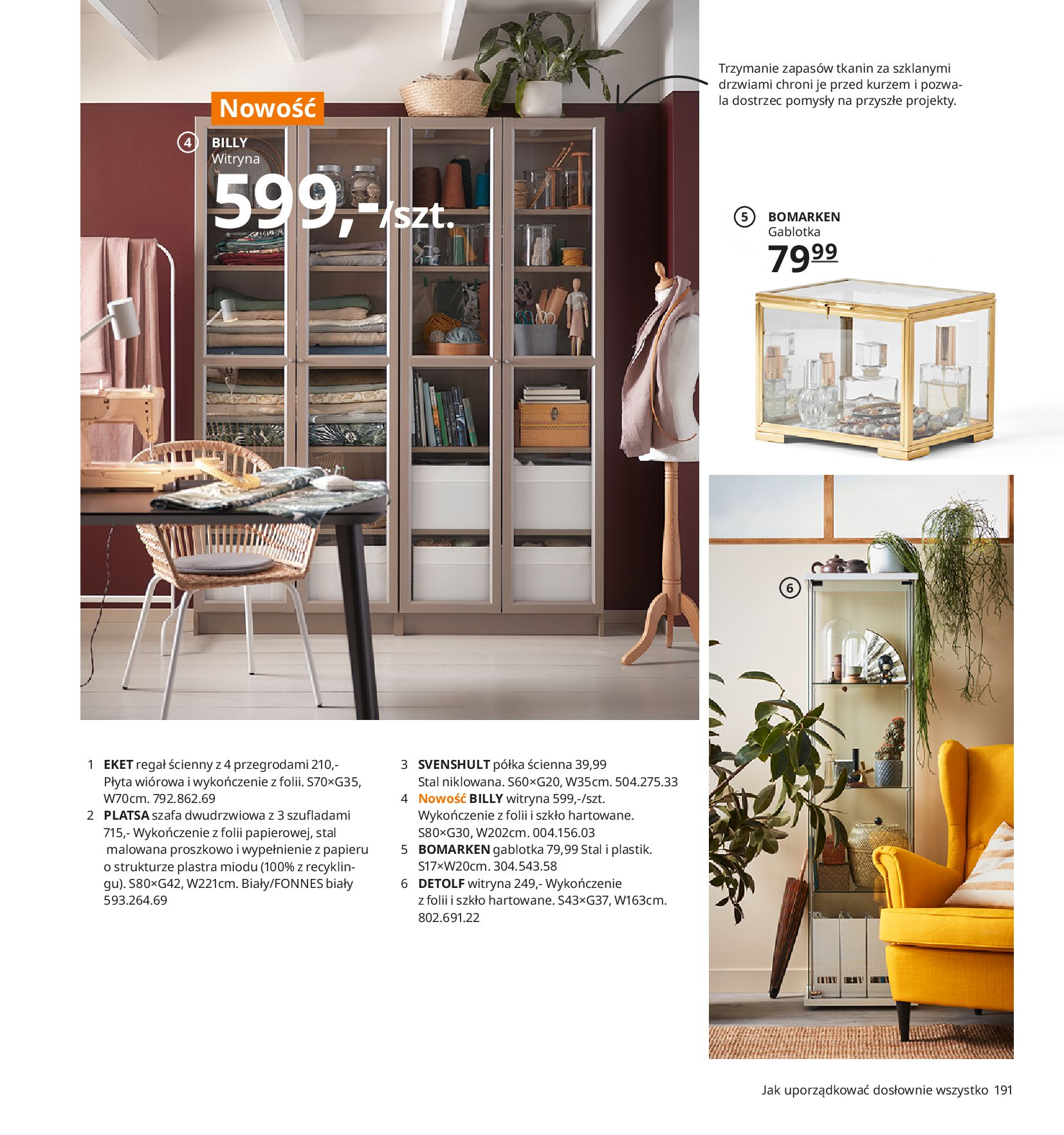 Gazetka IKEA:  Katalog IKEA 2021 2020-08-12 page-191