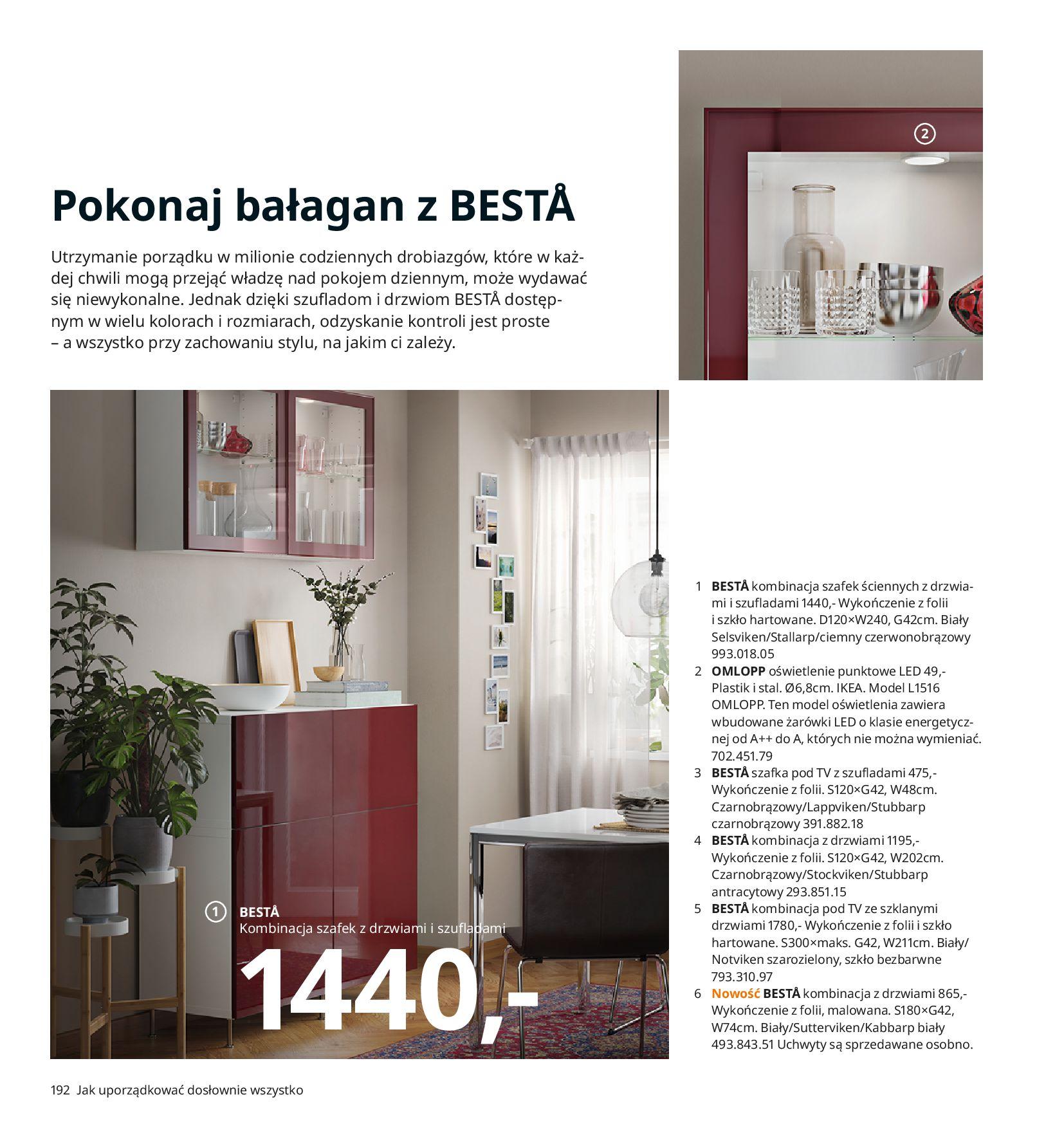 Gazetka IKEA:  Katalog IKEA 2021 2020-08-12 page-192