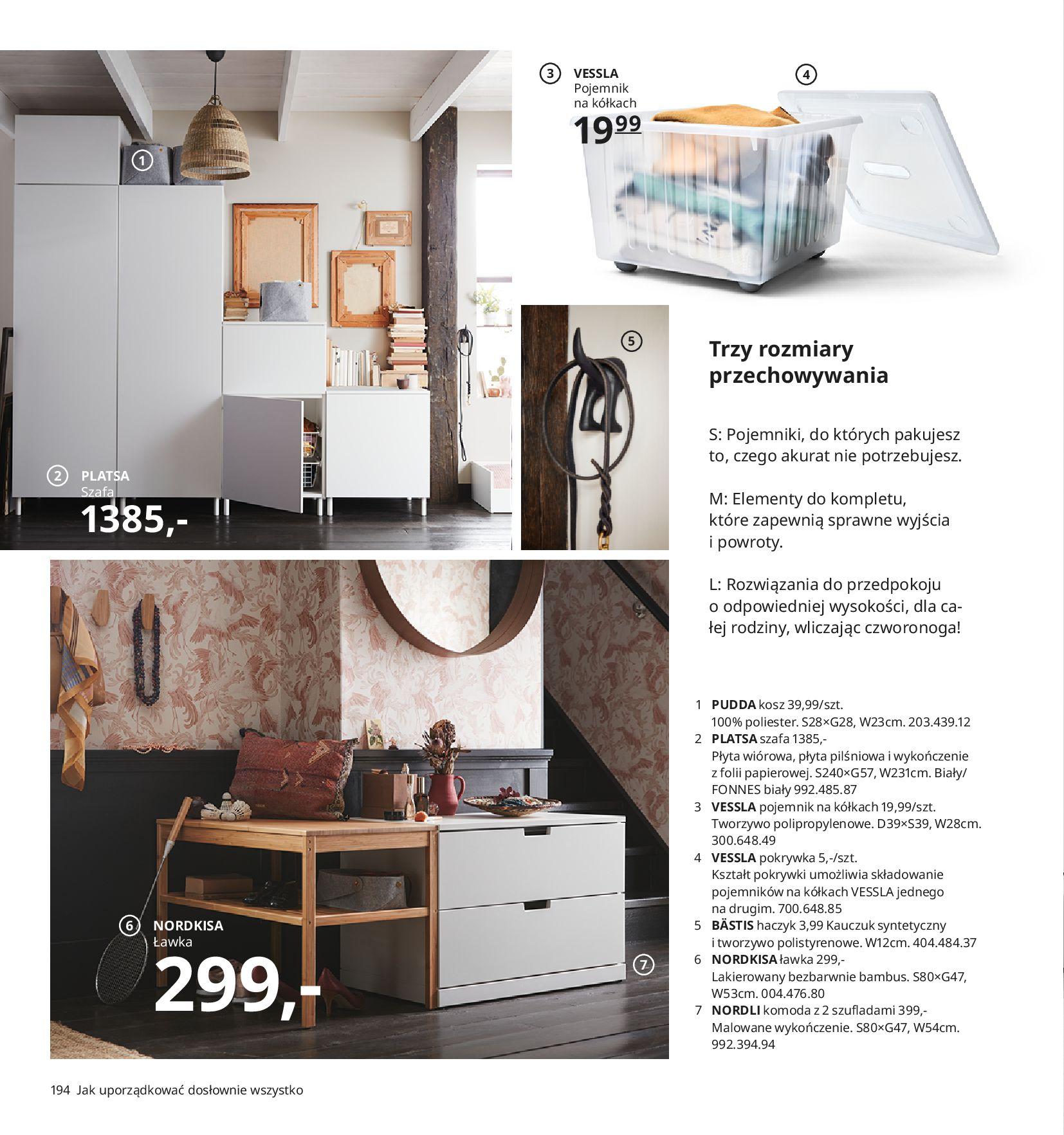 Gazetka IKEA:  Katalog IKEA 2021 2020-08-12 page-194