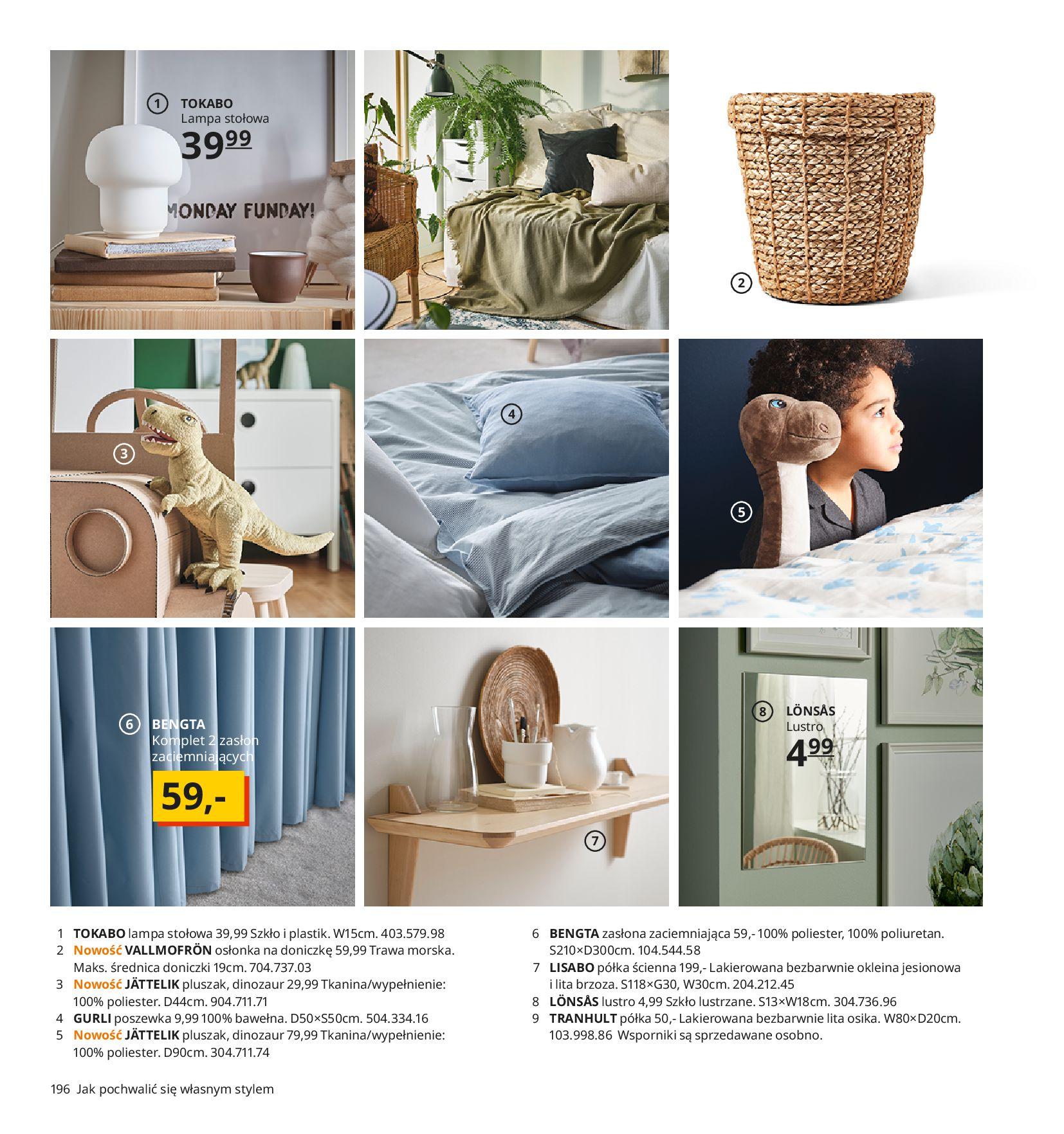 Gazetka IKEA:  Katalog IKEA 2021 2020-08-12 page-196