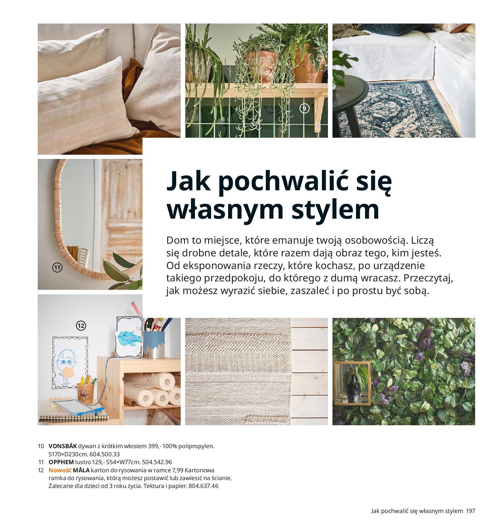 Gazetka IKEA:  Katalog IKEA 2021 2020-08-12 page-197