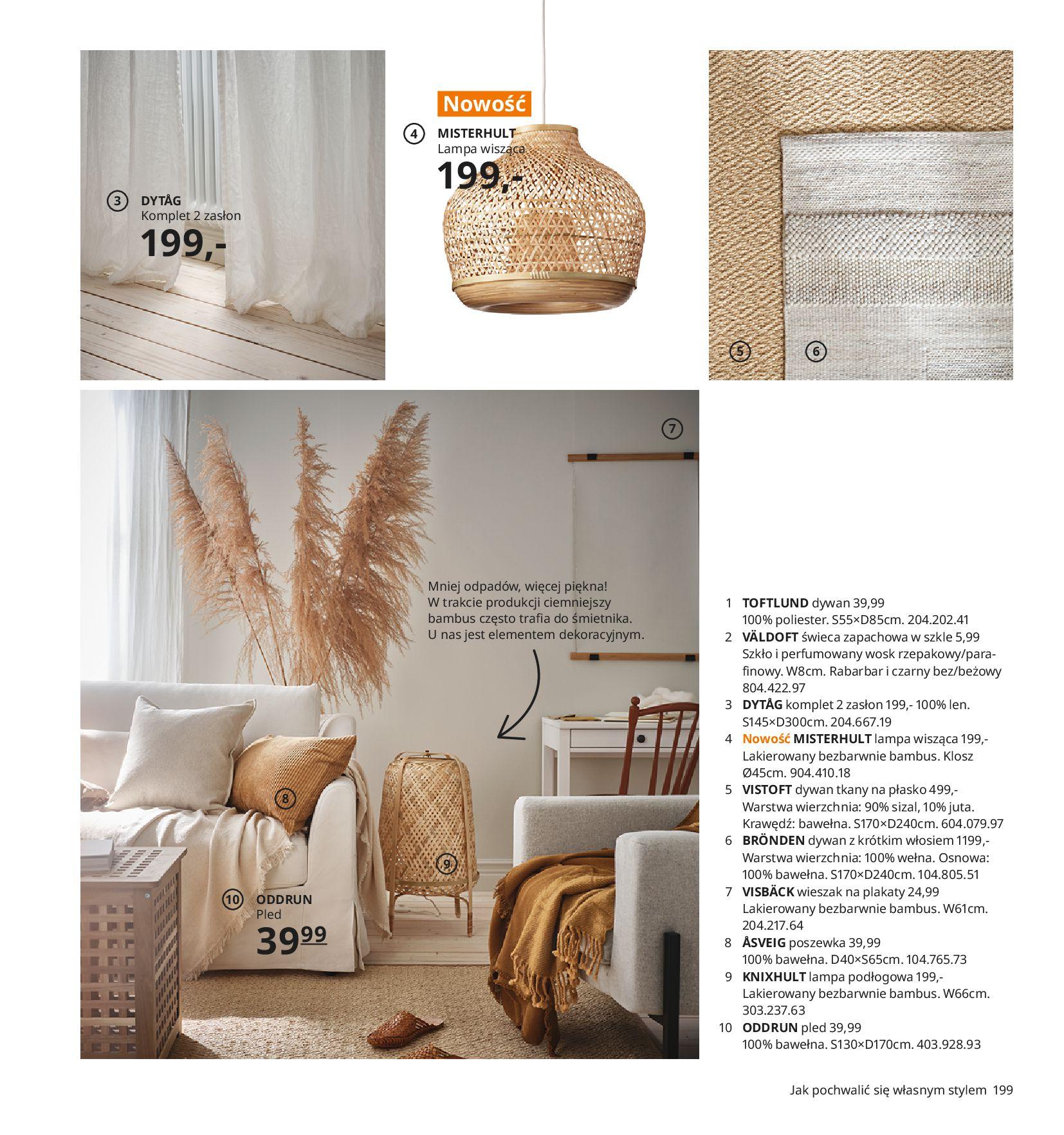 Gazetka IKEA -  Katalog IKEA 2021-11.08.2020-30.07.2021-page-199