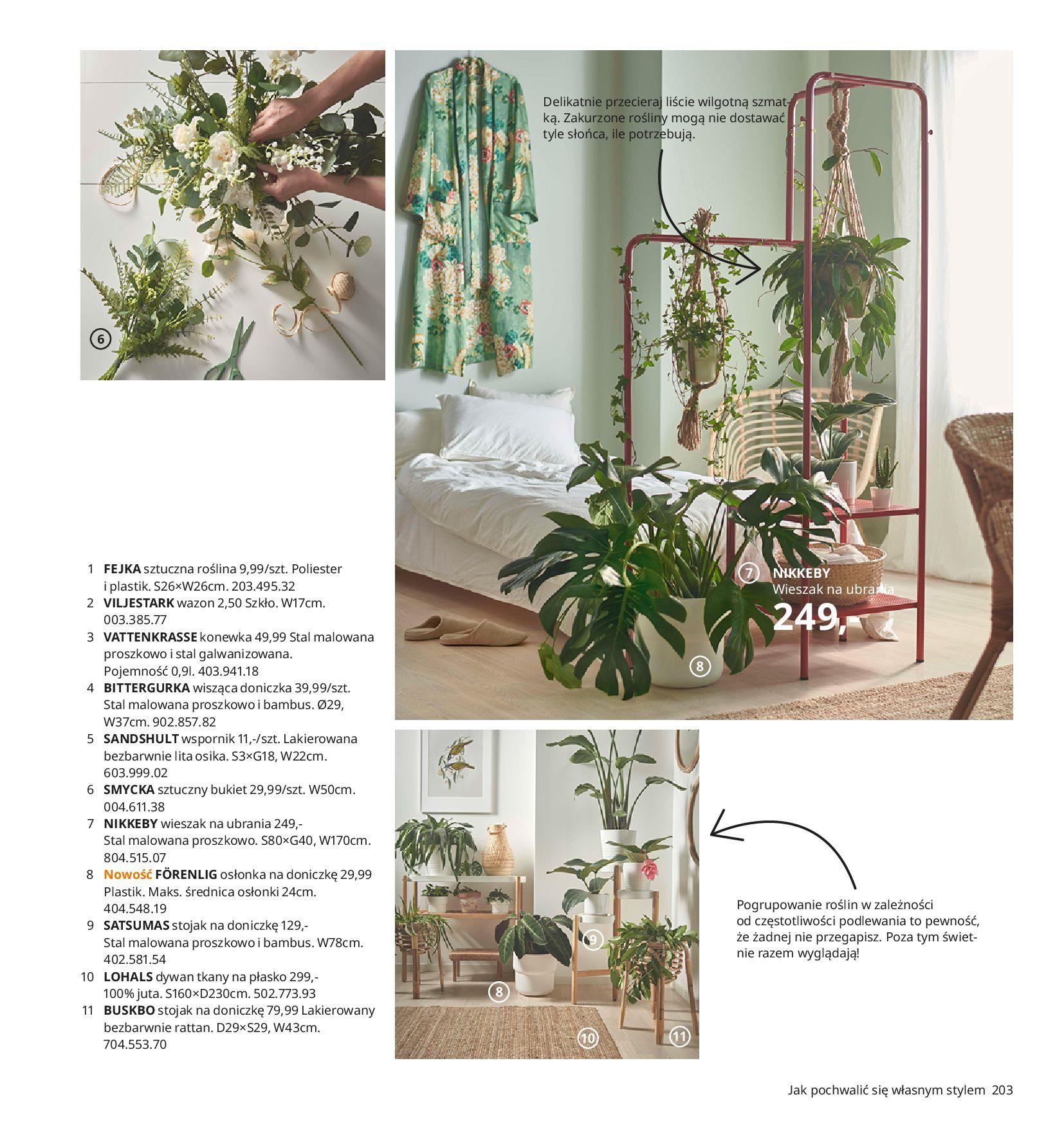 Gazetka IKEA -  Katalog IKEA 2021-11.08.2020-30.07.2021-page-203