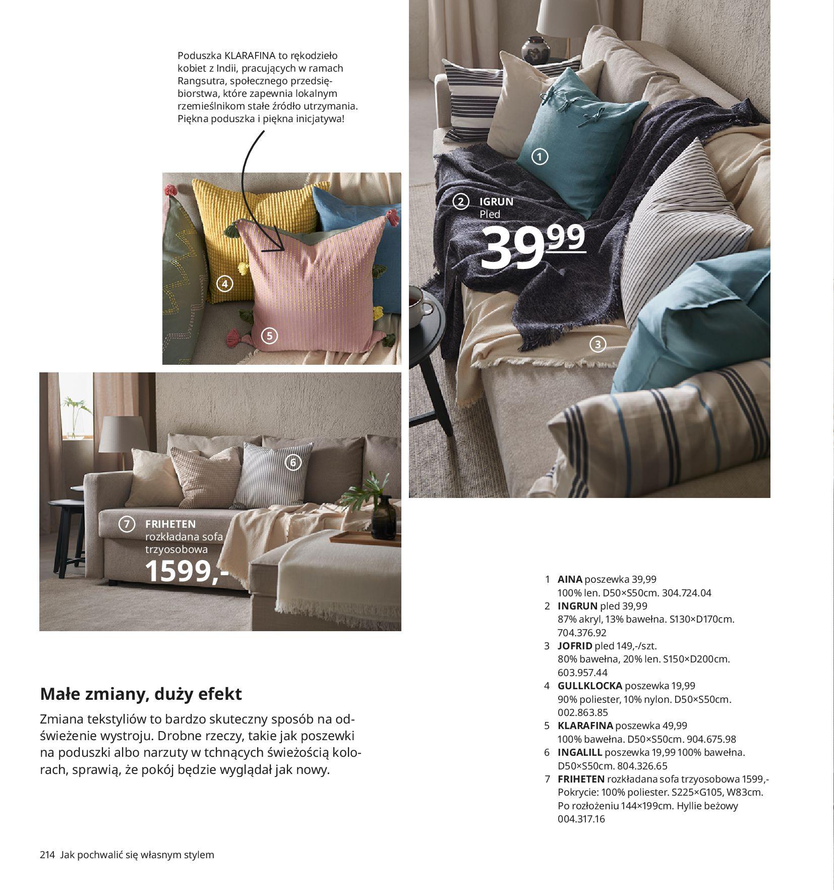 Gazetka IKEA:  Katalog IKEA 2021 2020-08-12 page-214