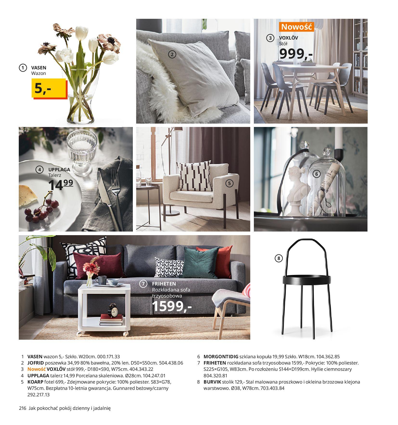 Gazetka IKEA:  Katalog IKEA 2021 2020-08-12 page-216