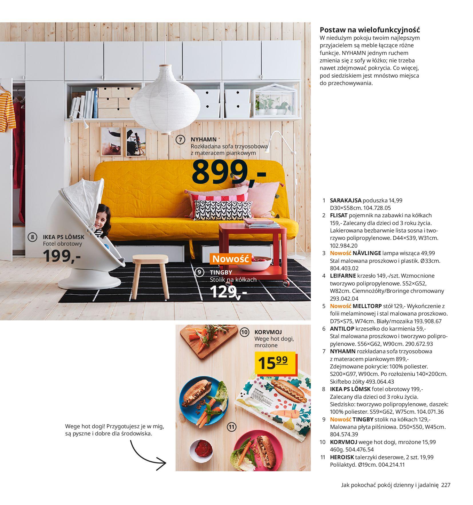 Gazetka IKEA:  Katalog IKEA 2021 2020-08-12 page-227