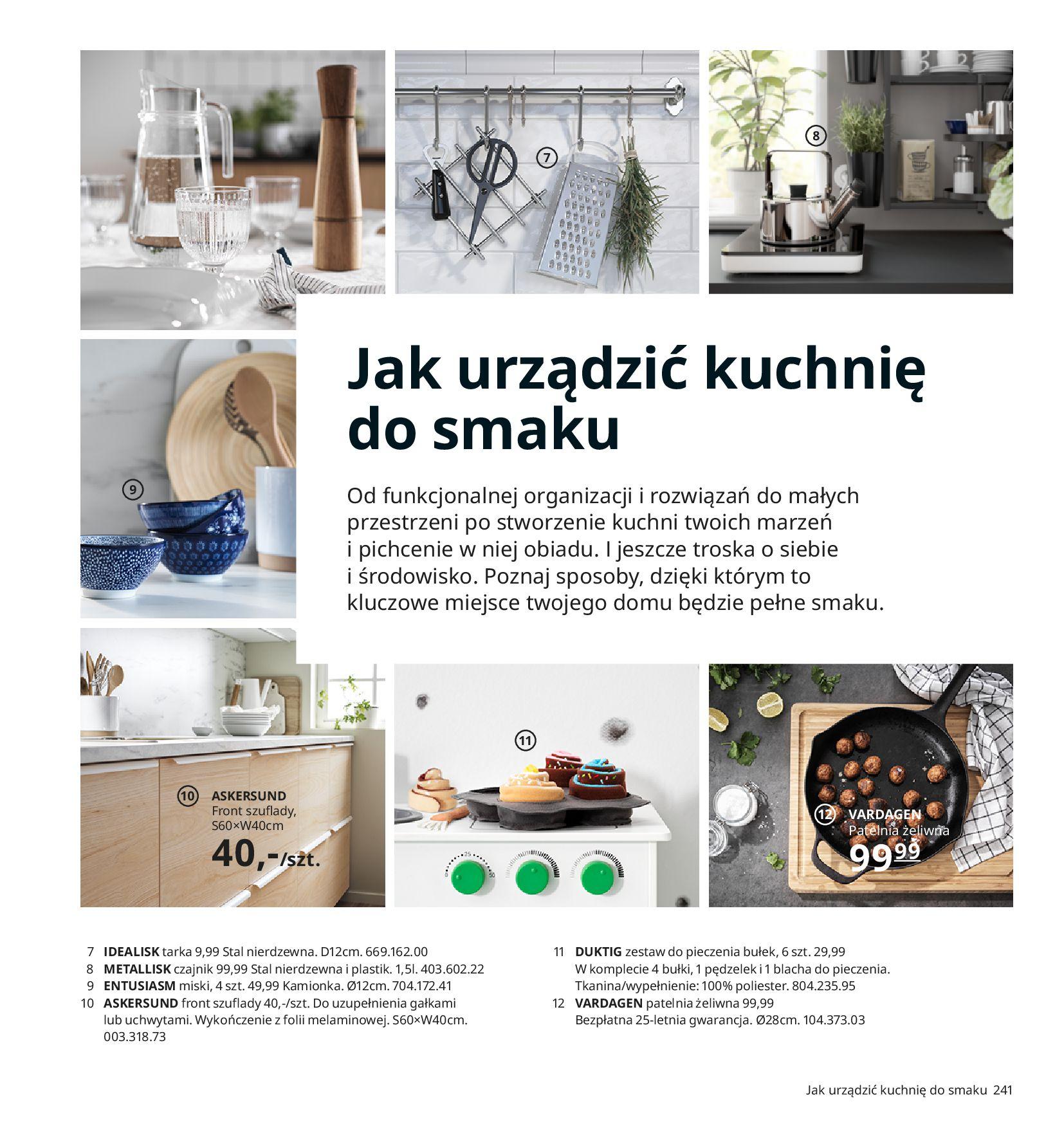 Gazetka IKEA:  Katalog IKEA 2021 2020-08-12 page-241