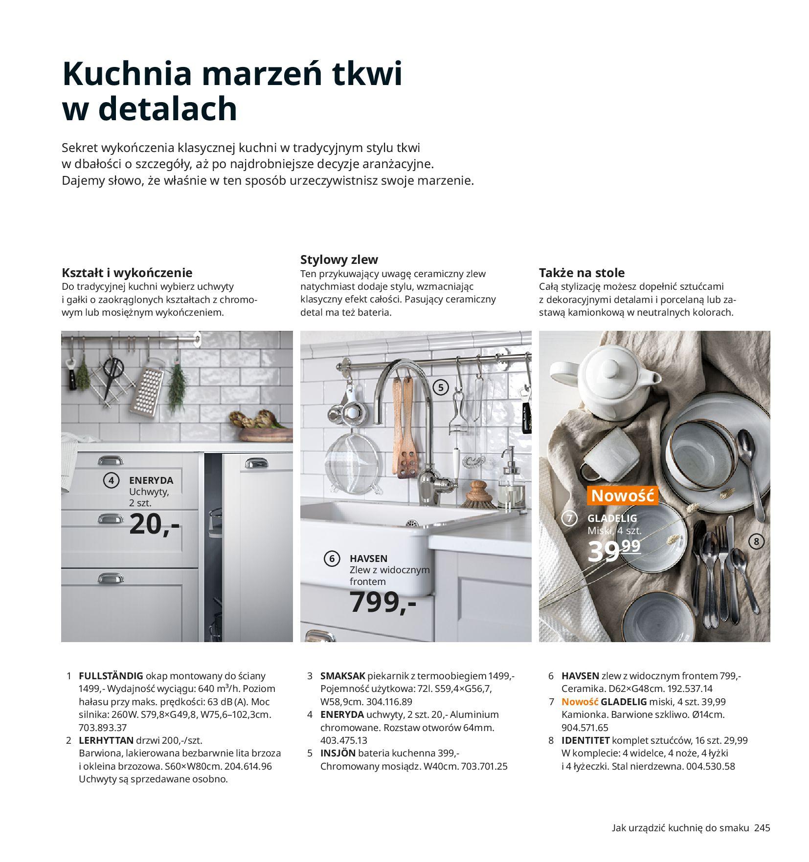 Gazetka IKEA:  Katalog IKEA 2021 2020-08-12 page-245