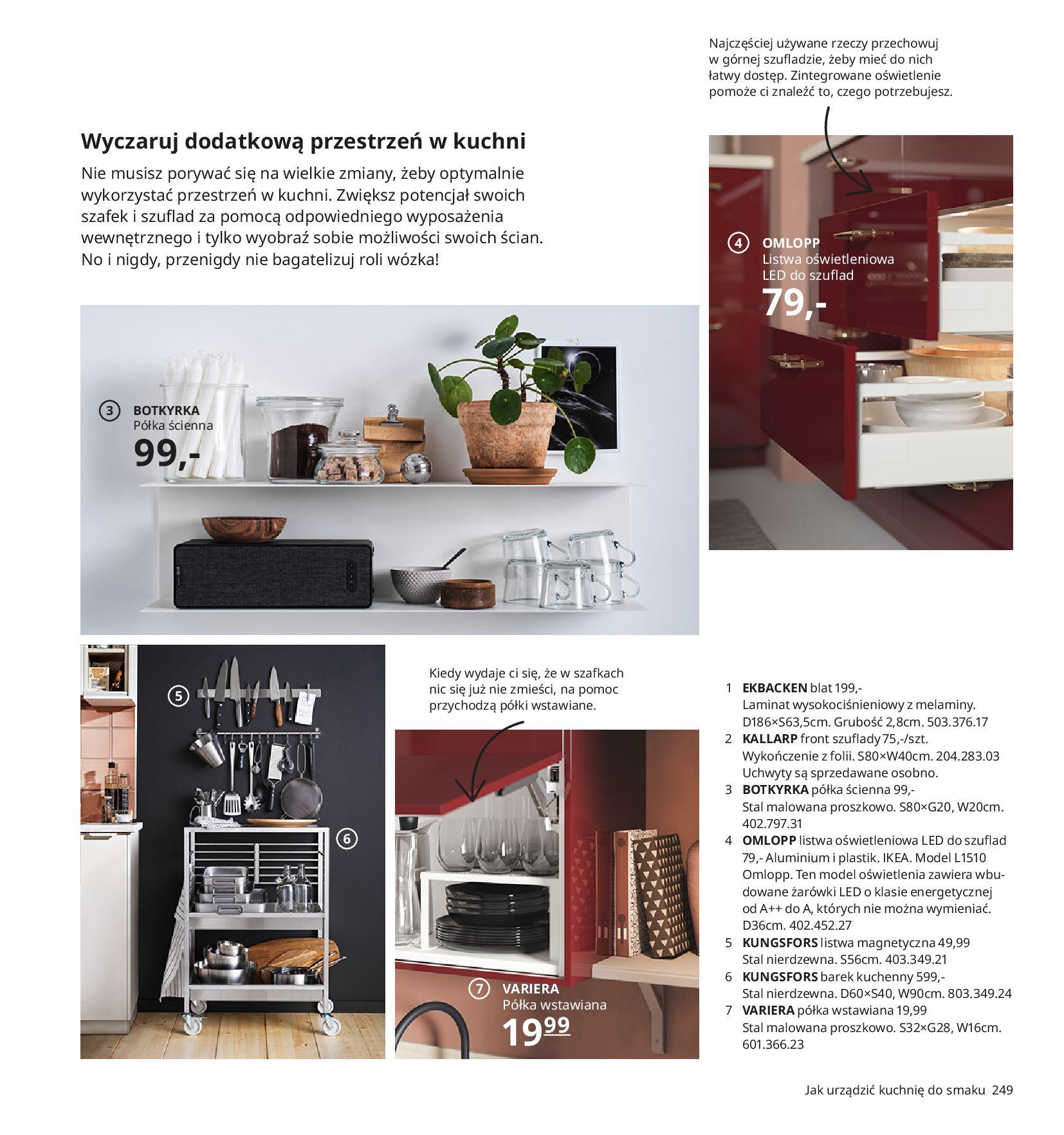 Gazetka IKEA:  Katalog IKEA 2021 2020-08-12 page-249