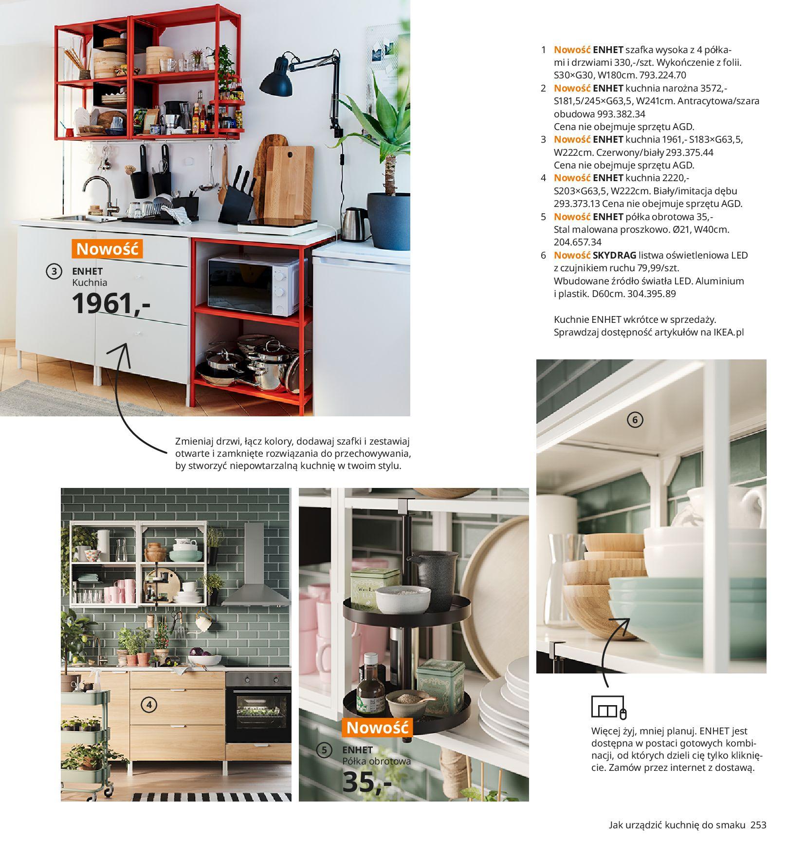 Gazetka IKEA:  Katalog IKEA 2021 2020-08-12 page-253