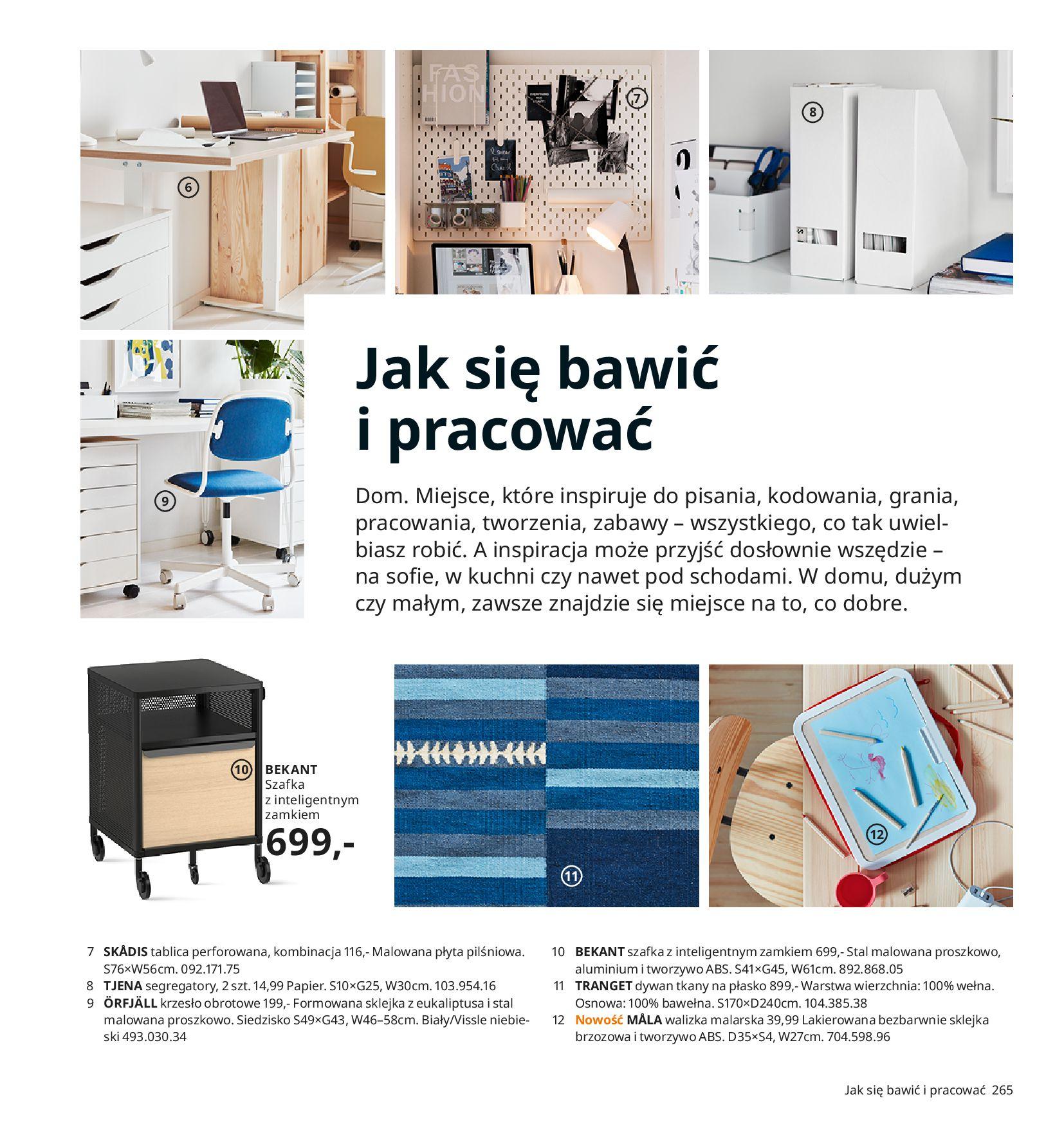 Gazetka IKEA:  Katalog IKEA 2021 2020-08-12 page-265