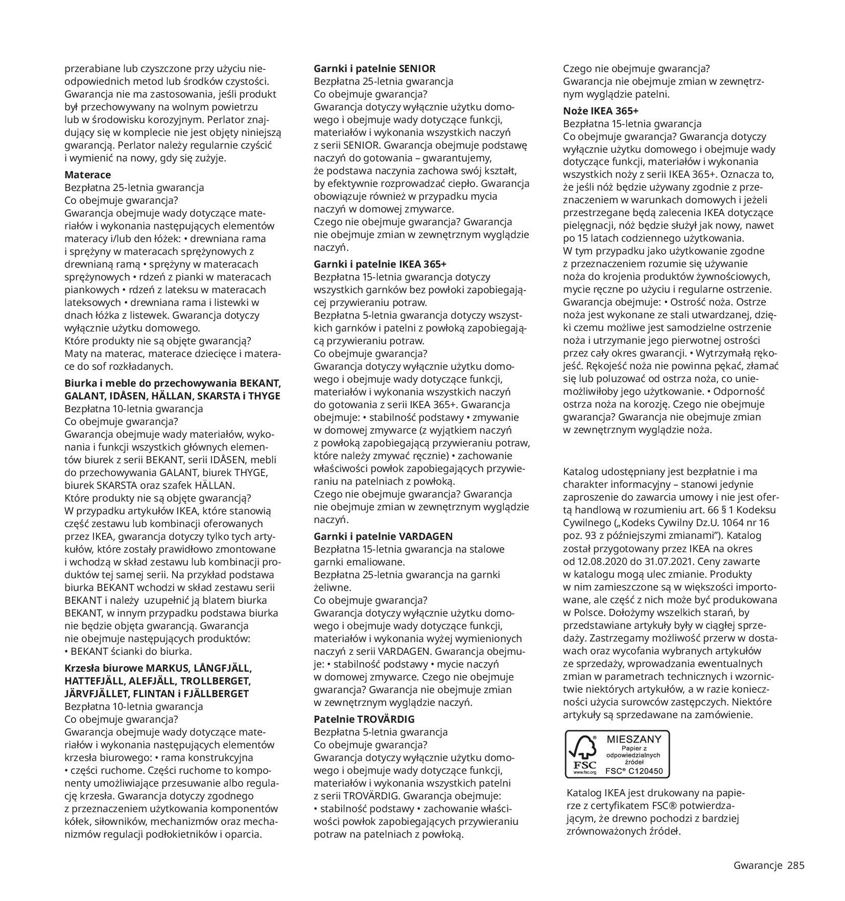 Gazetka IKEA:  Katalog IKEA 2021 2020-08-12 page-285