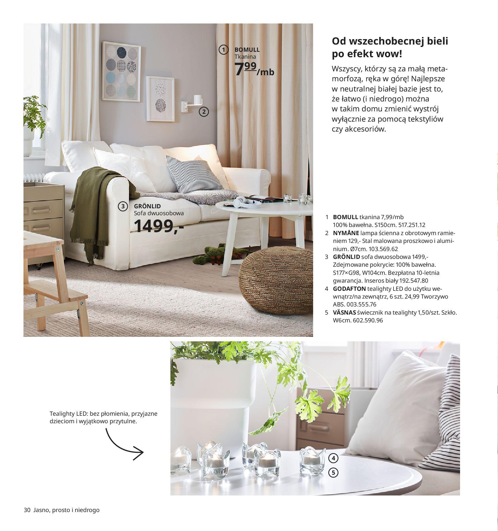 Gazetka IKEA:  Katalog IKEA 2021 2020-08-12 page-30