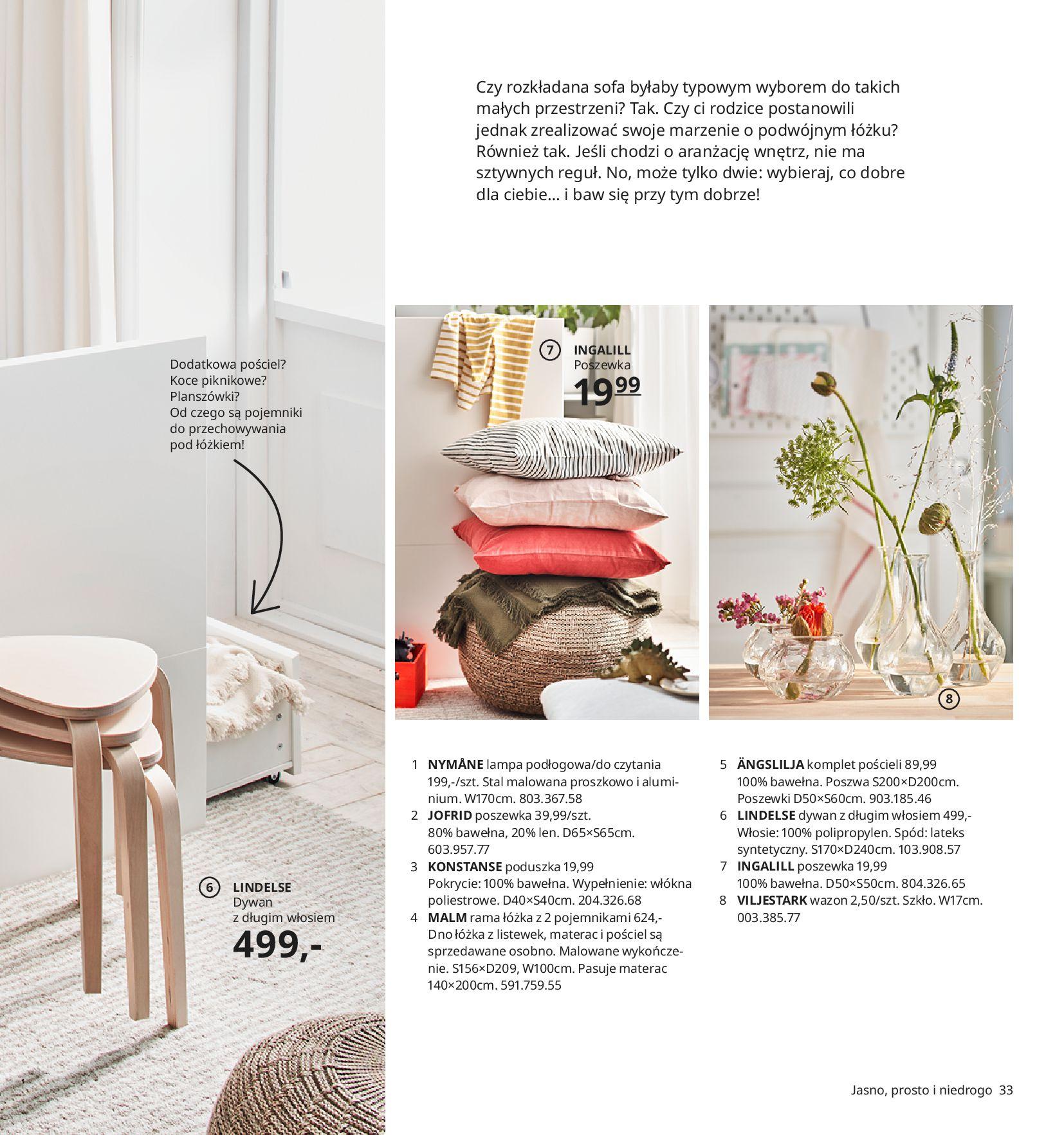 Gazetka IKEA:  Katalog IKEA 2021 2020-08-12 page-33