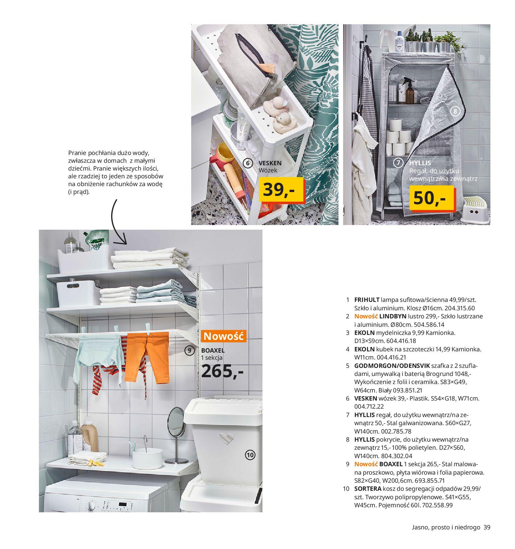 Gazetka IKEA:  Katalog IKEA 2021 2020-08-12 page-39