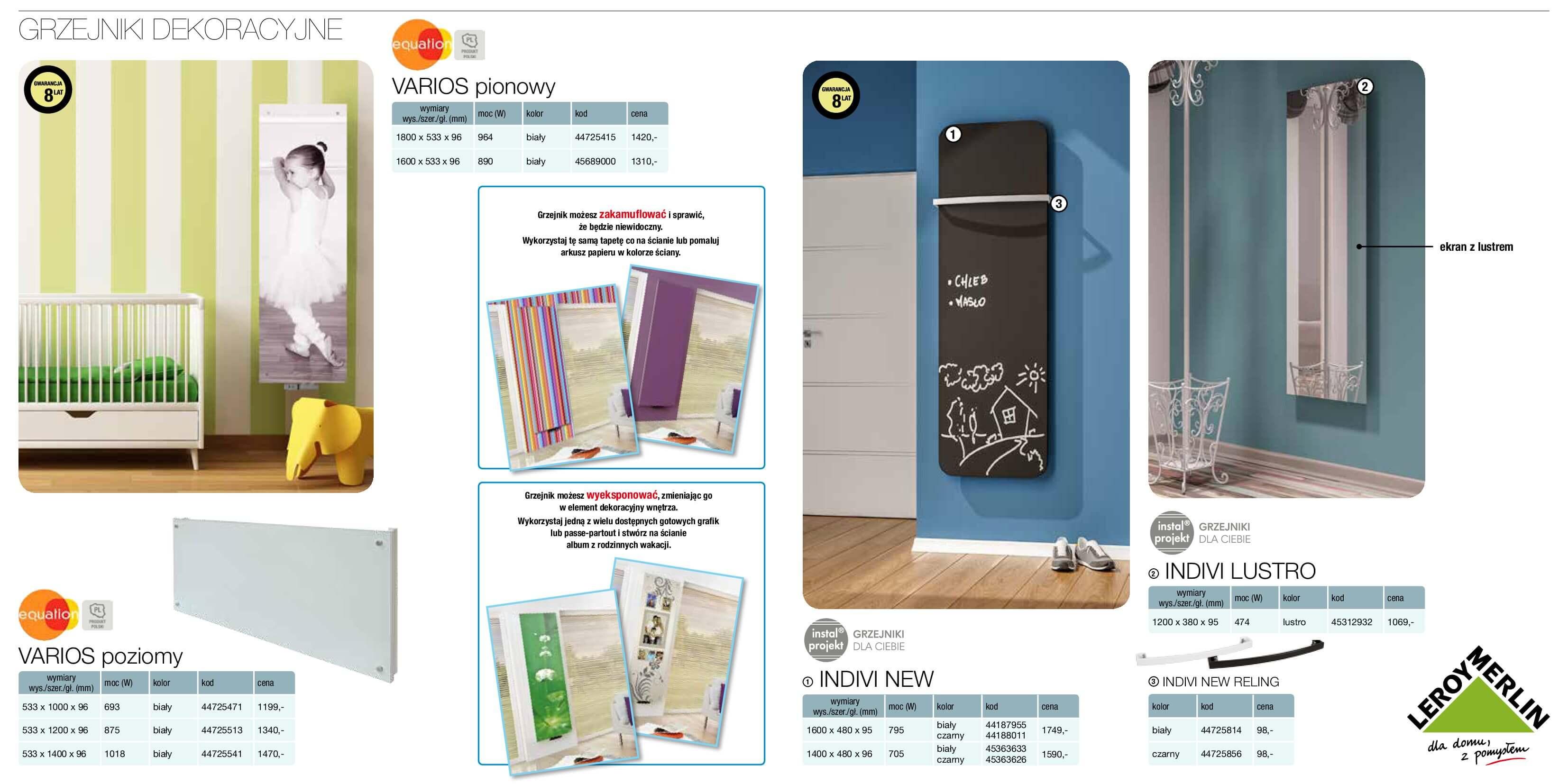 Gazetka Leroy Merlin - Katalog grzejniki-12.04.2017-31.12.2017-page-7