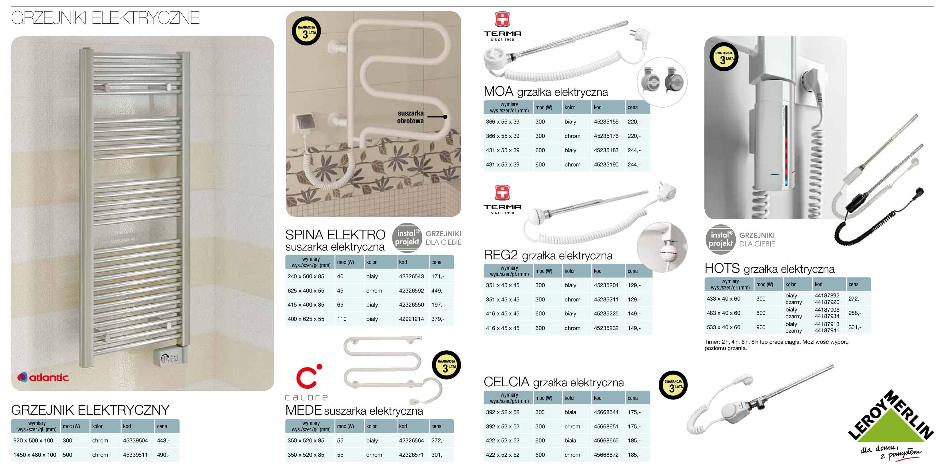 Gazetka Leroy Merlin - Katalog grzejniki-12.04.2017-31.12.2017-page-18