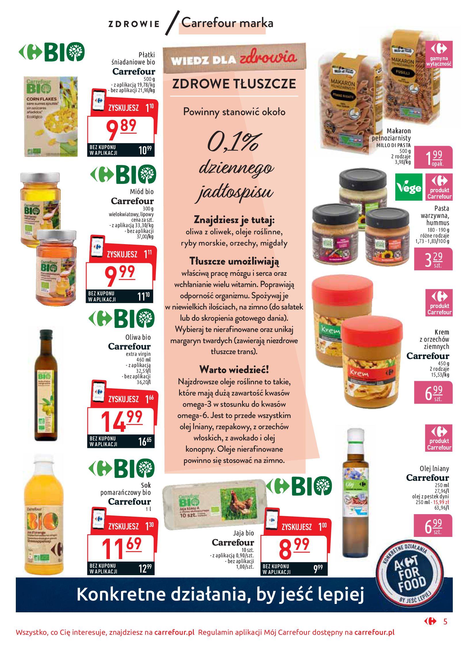 Gazetka Carrefour Market - Wiedz dla zdrowia-07.01.2020-18.01.2020-page-5
