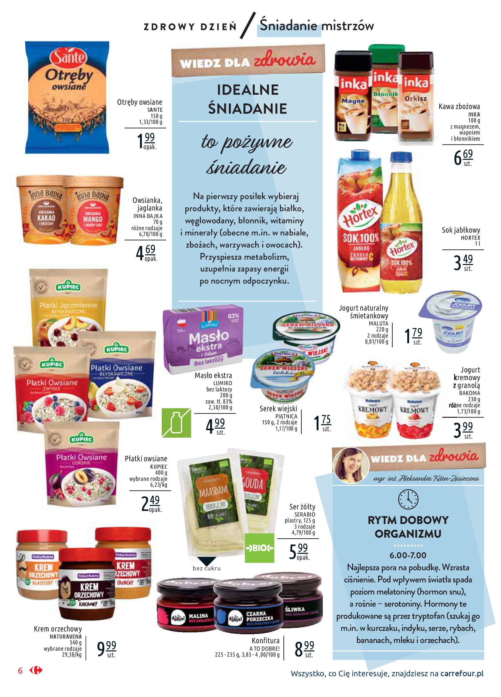 Gazetka Carrefour Market - Wiedz dla zdrowia-07.01.2020-18.01.2020-page-6
