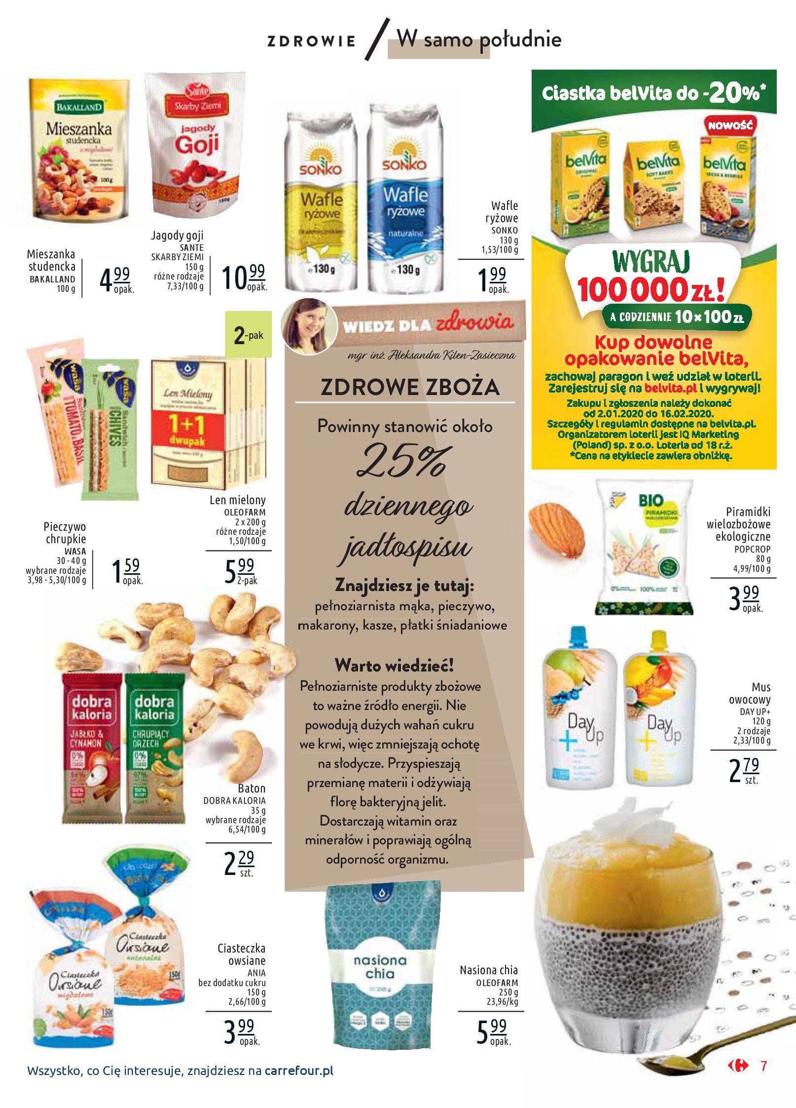 Gazetka Carrefour Market - Wiedz dla zdrowia-07.01.2020-18.01.2020-page-7