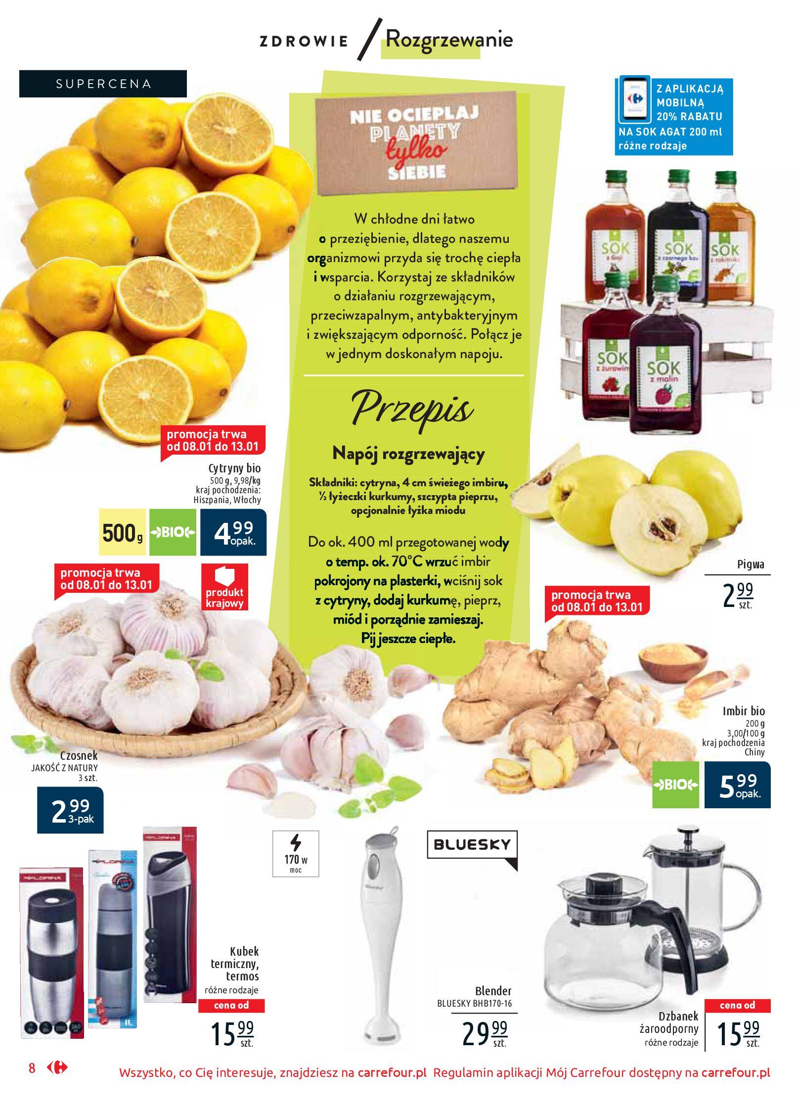 Gazetka Carrefour Market - Wiedz dla zdrowia-07.01.2020-18.01.2020-page-8